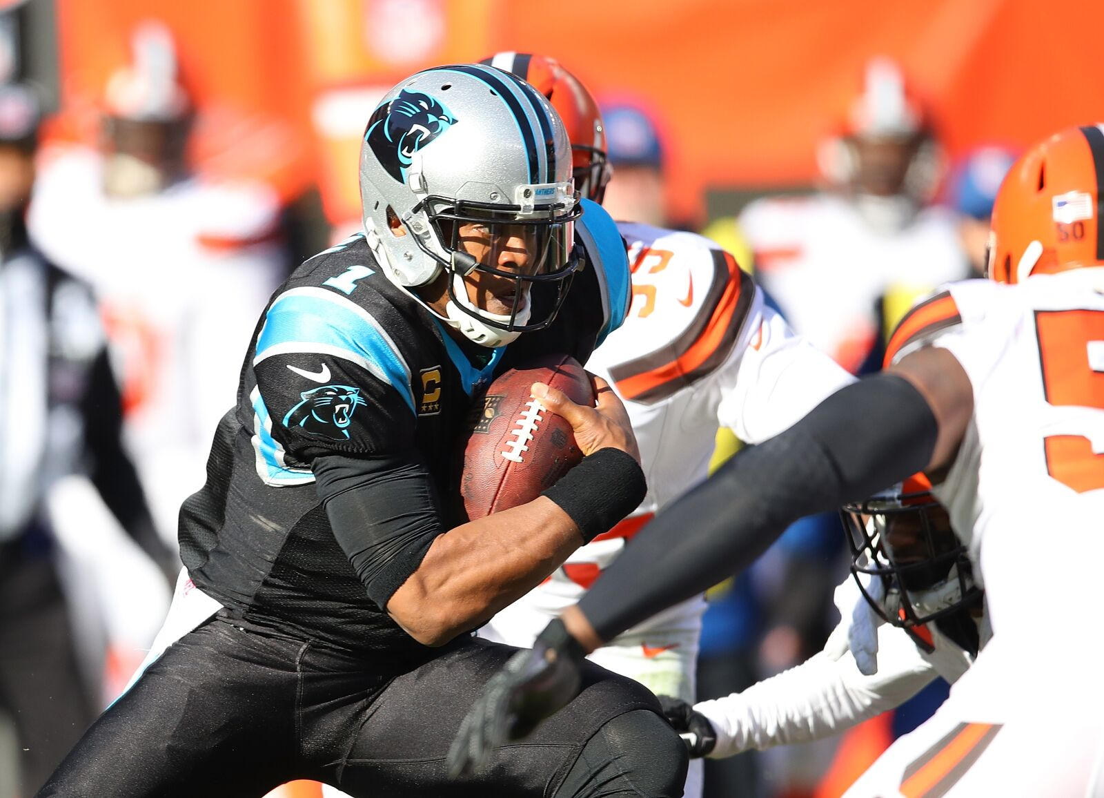 Cam Newton motivated and focused for Monday Night lights
