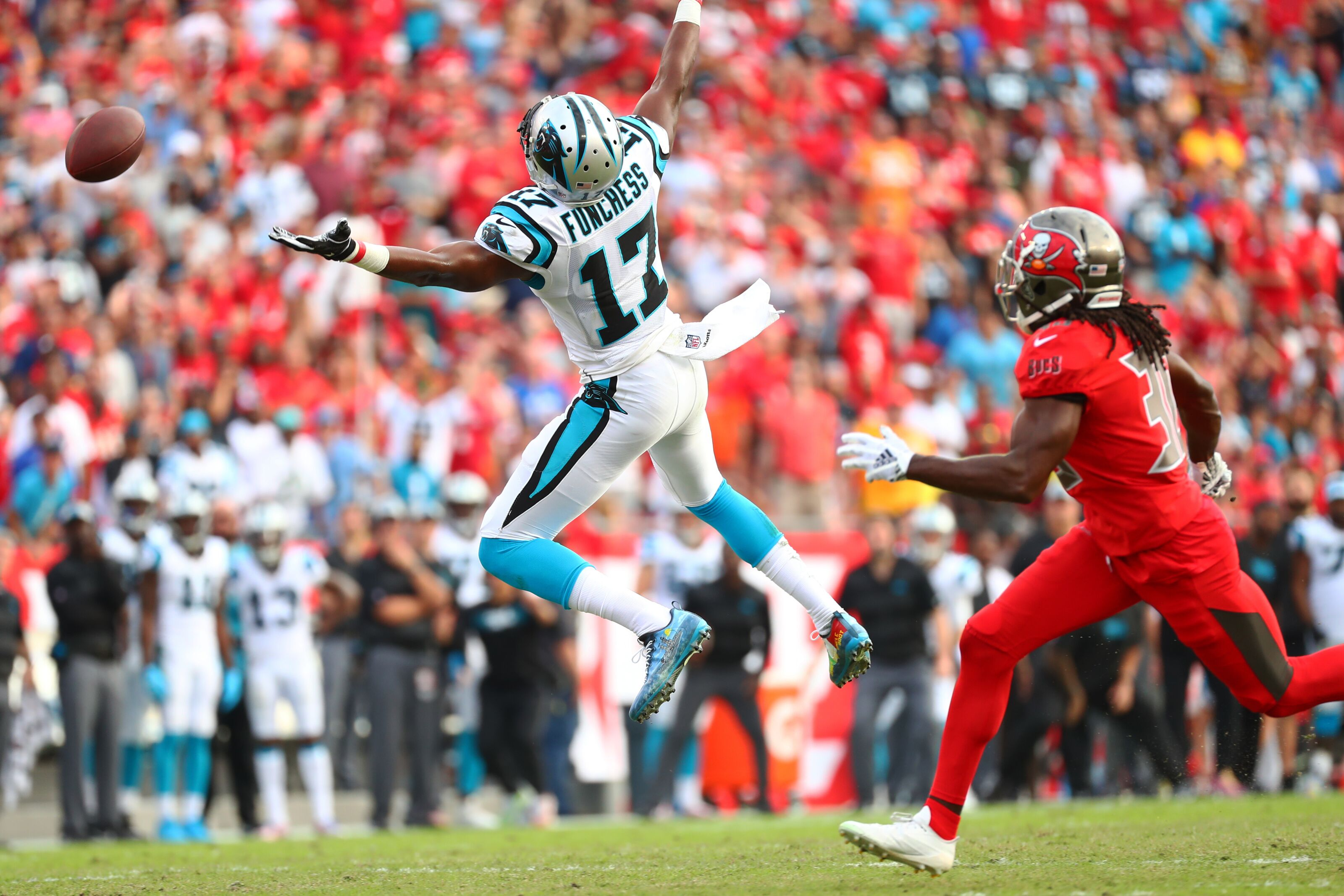 Devin Funchess focused on giving back to community