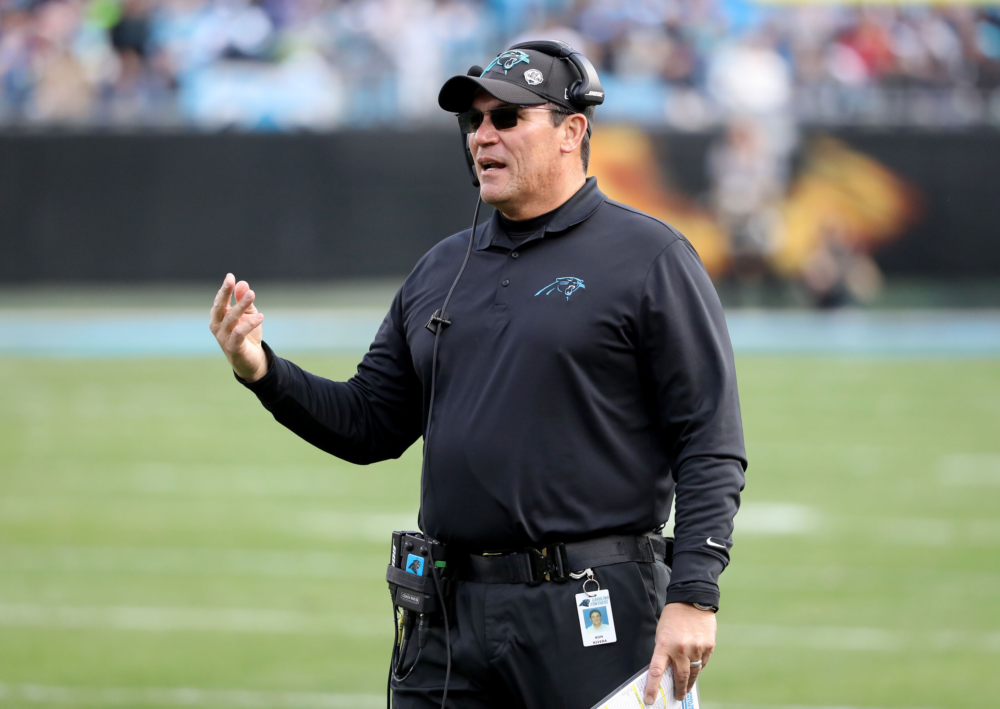 74dc45e5 Panthers making bold descision by bringing Ron Rivera back for 2019