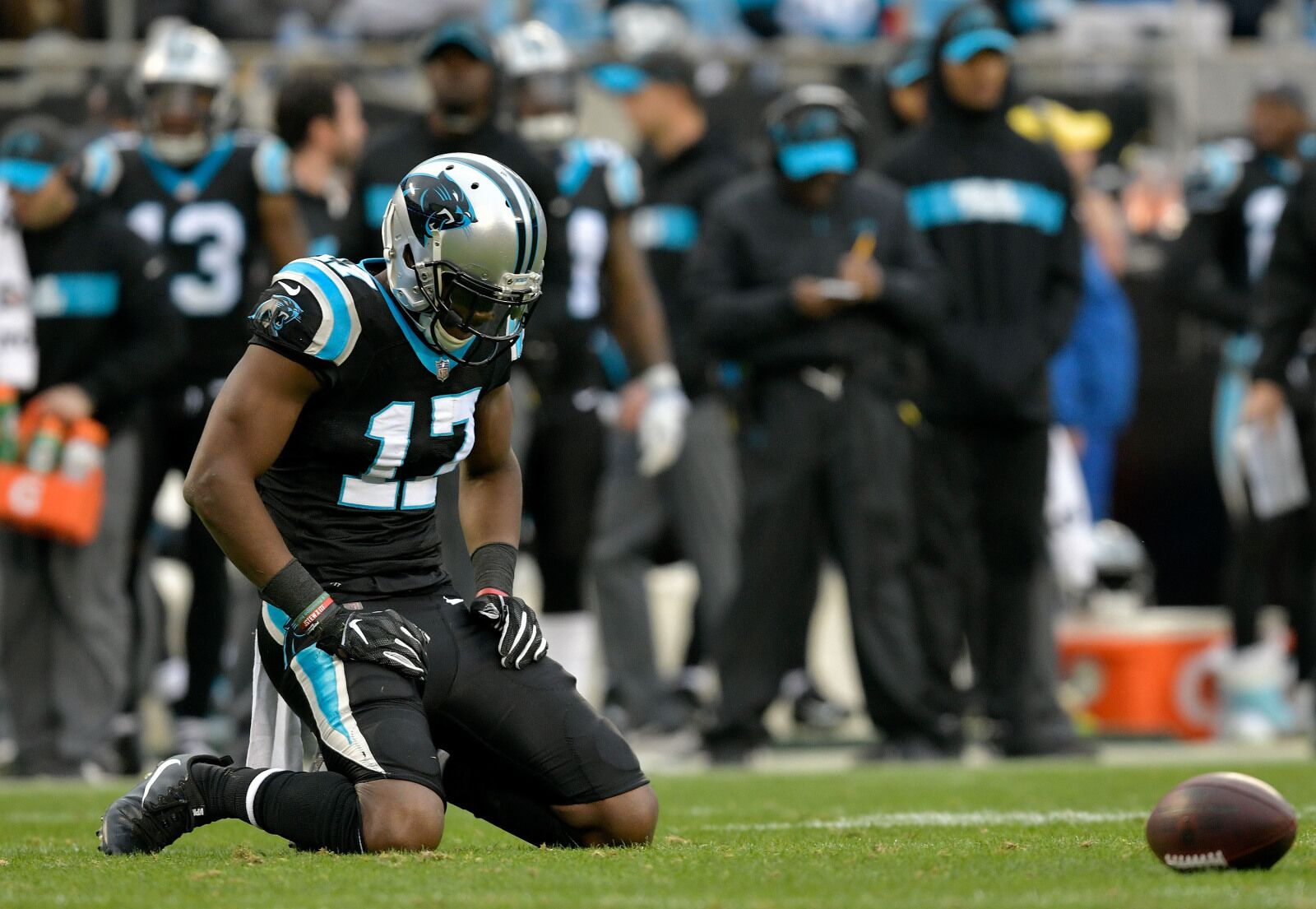 Devin Funchess wants to remain in Carolina, and that is good news
