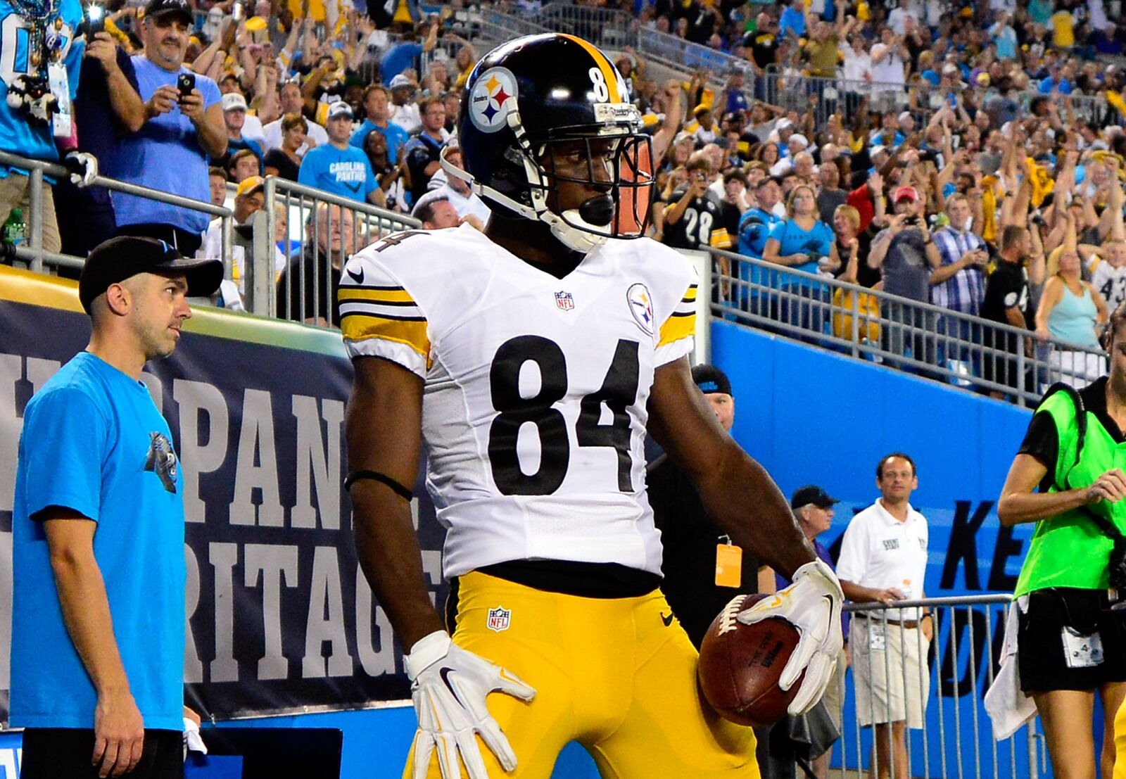 Why the Panthers and Antonio Brown just make sense