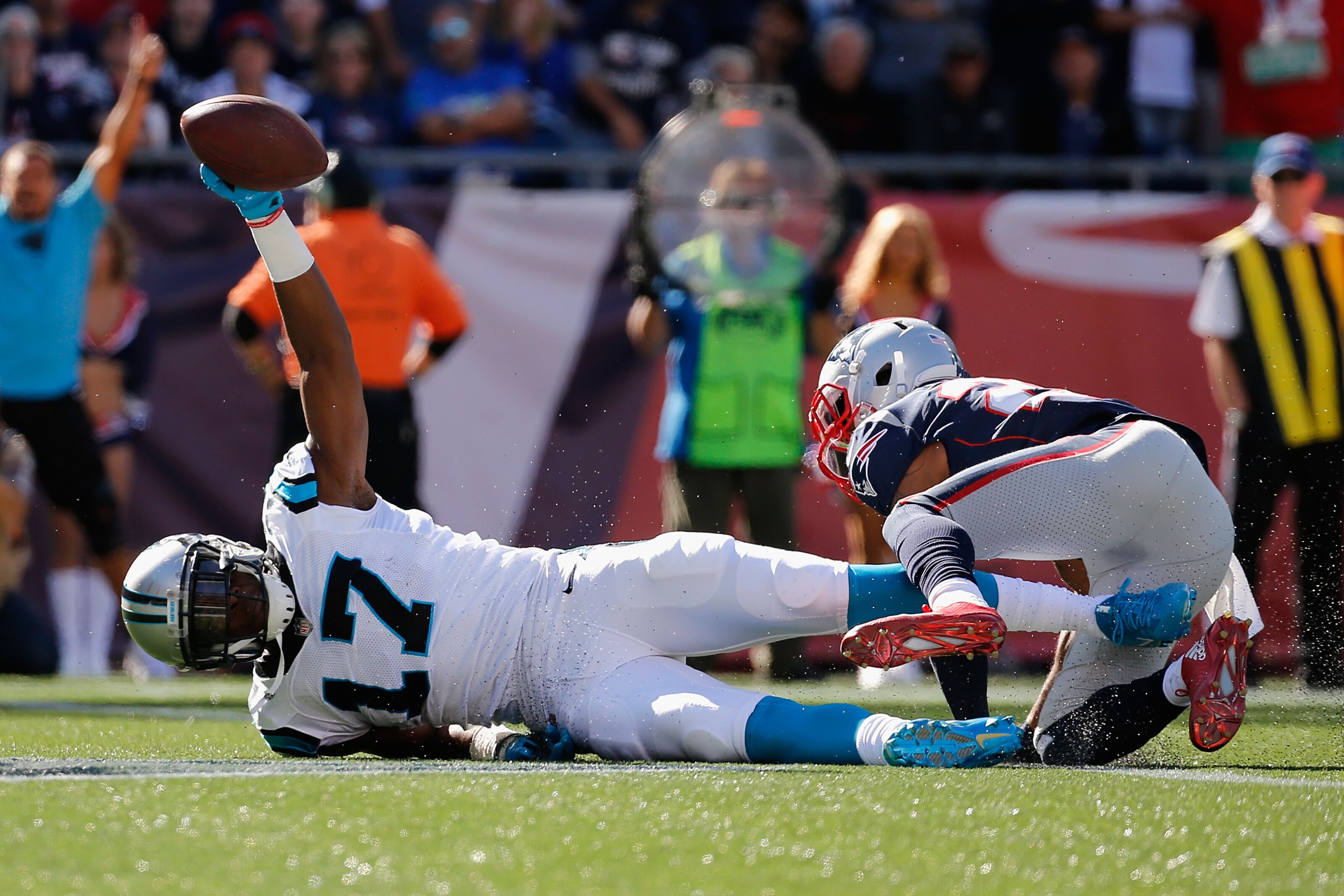 Carolina Panthers GAMEDAY  vs. New England Patriots f2a7395f7