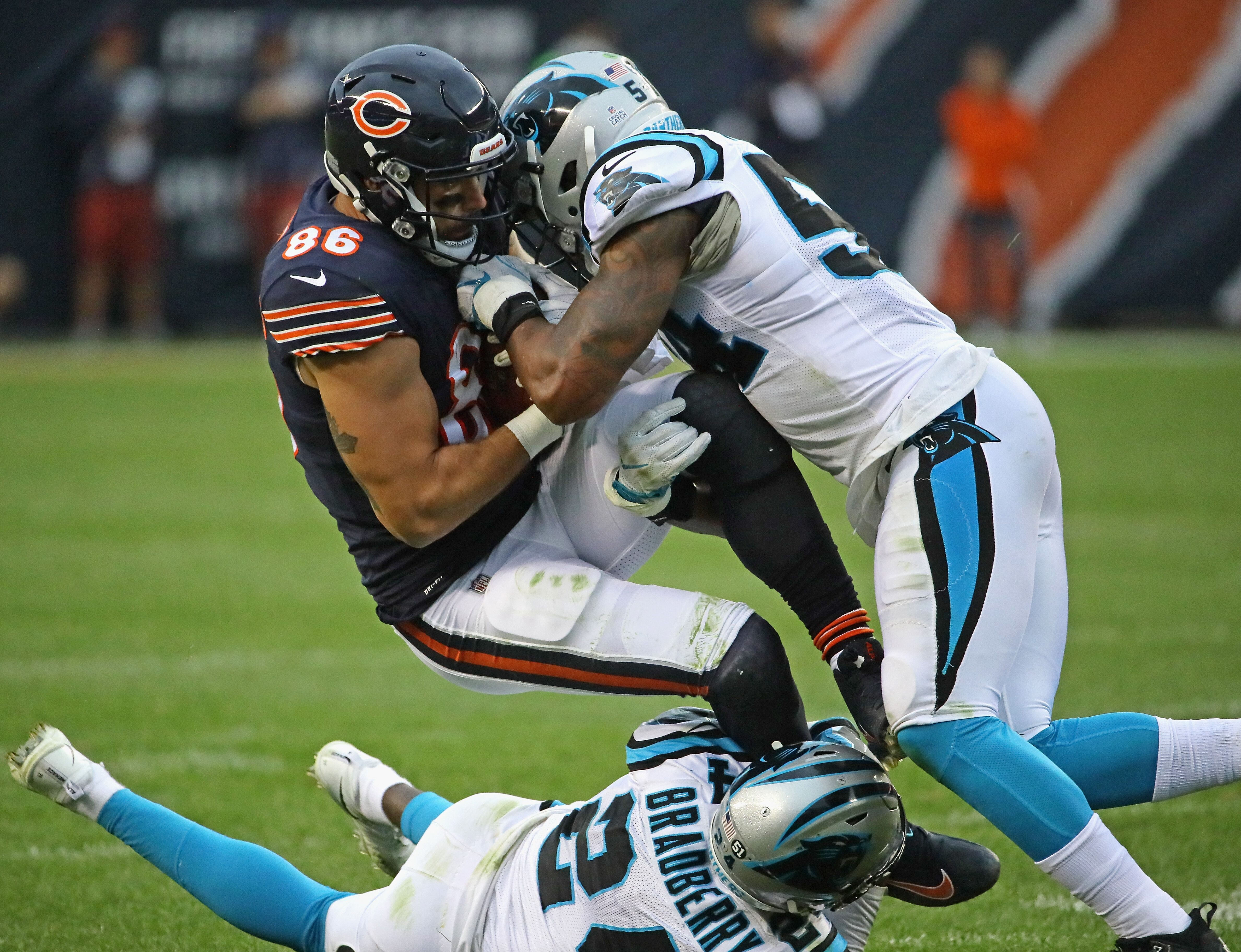 dfde397c Carolina Panthers at Chicago Bears: Game day links and news
