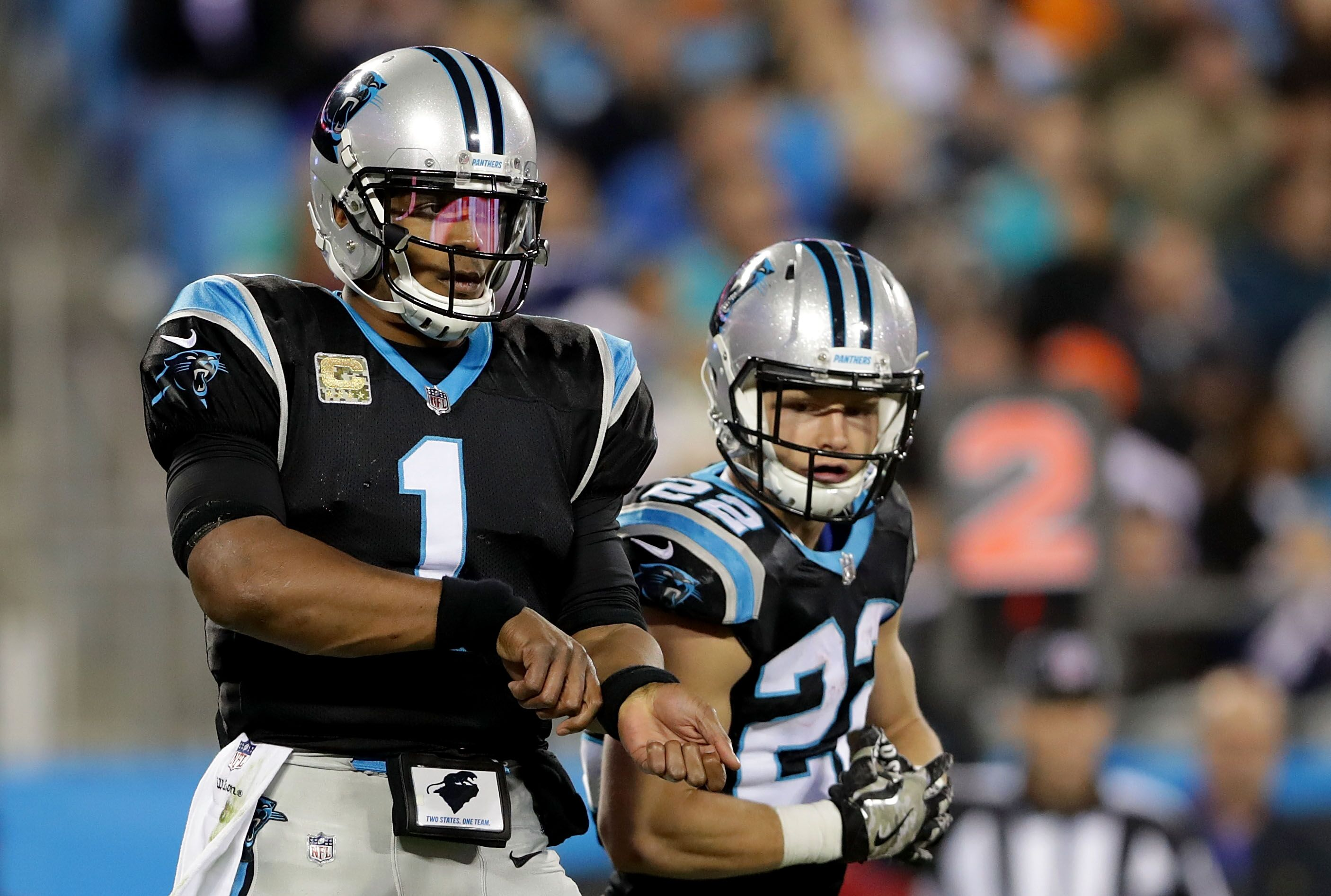 d7d84bc9 Carolina Panthers ball carrying duo selected as best in the NFL