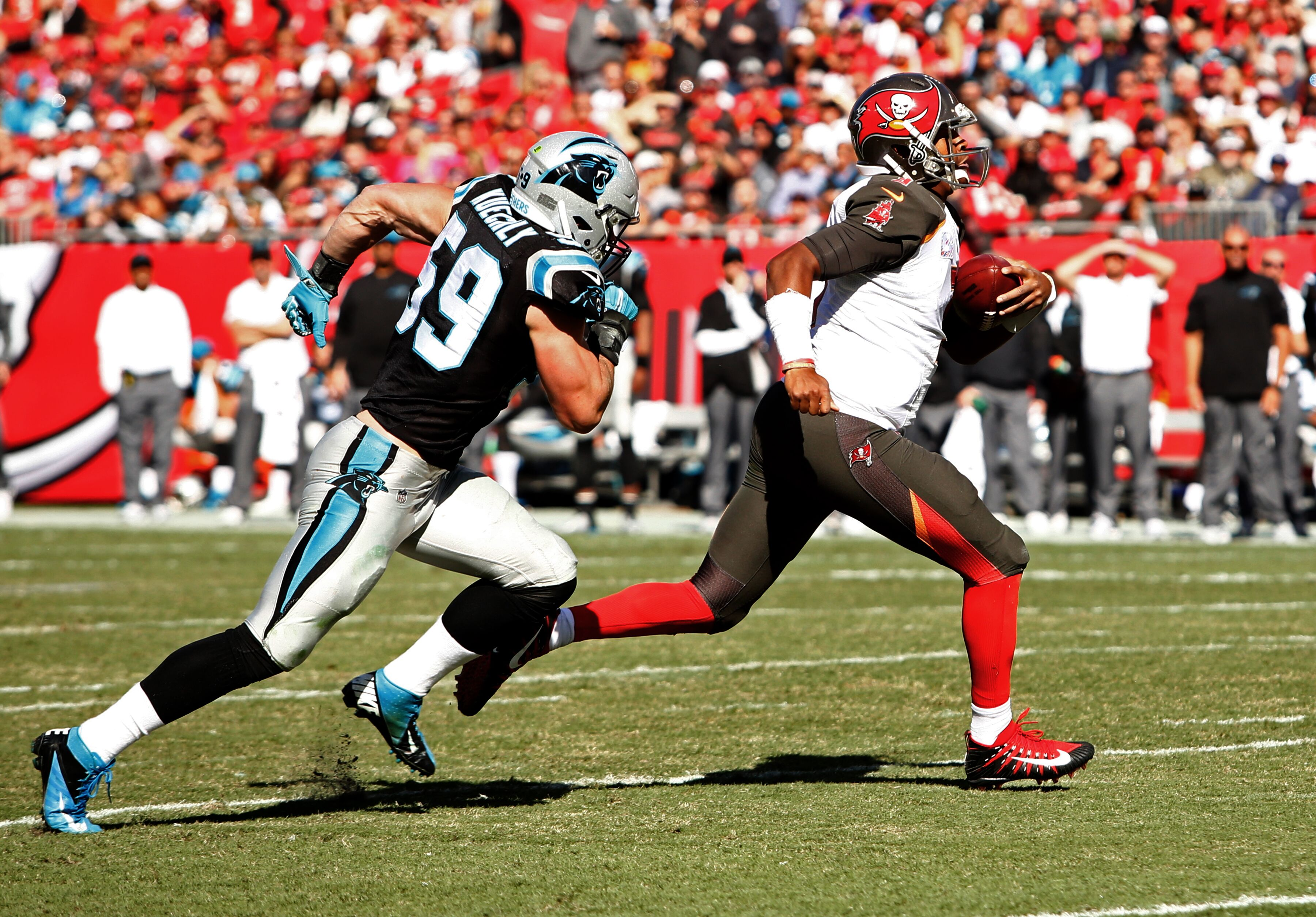 The Panthers are still searching for a guard to take Andrew Norwells place JR Sweezy could be the answer for Carolina