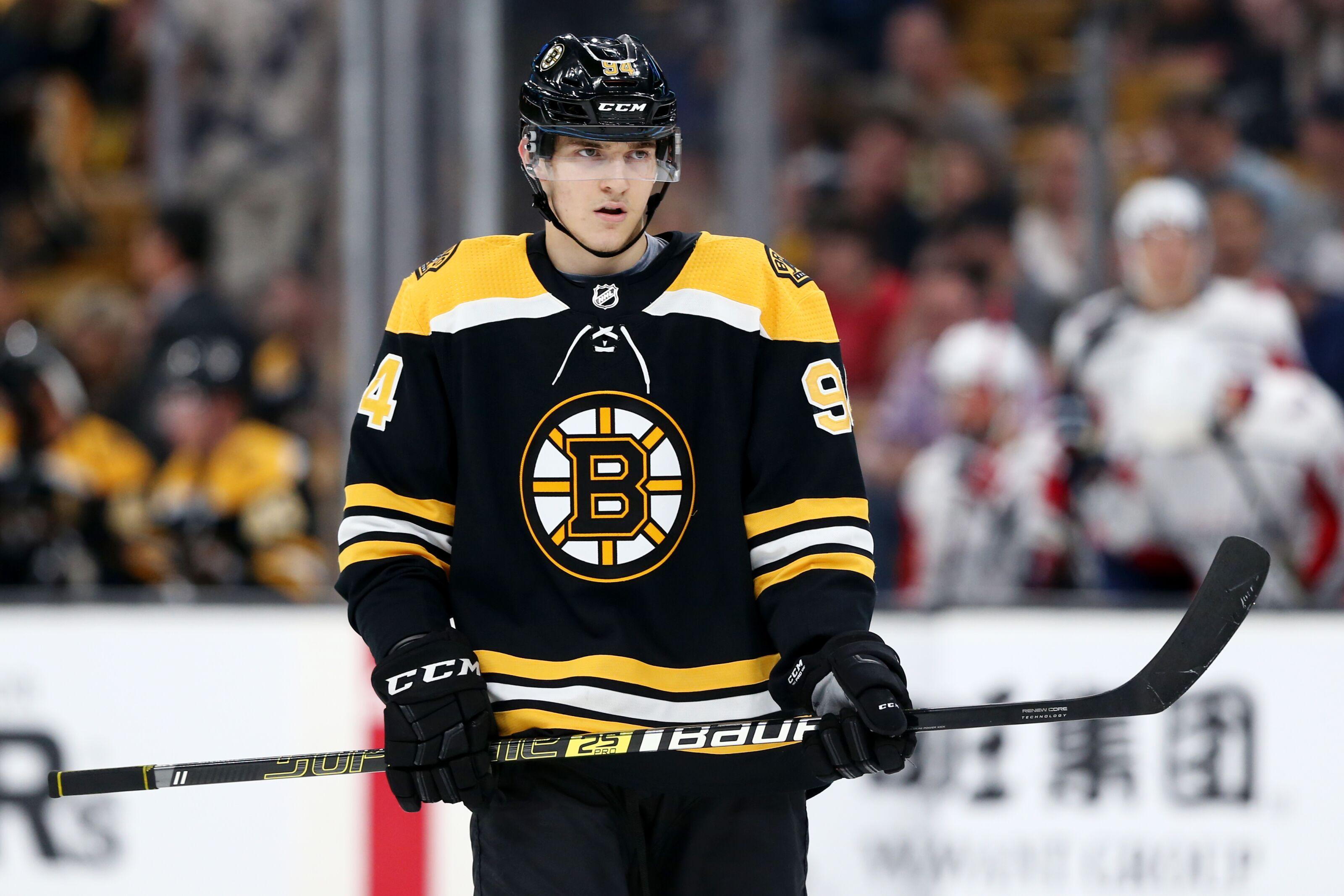 Boston Bruins: Jakub Lauko to the AHL or back to major junior?