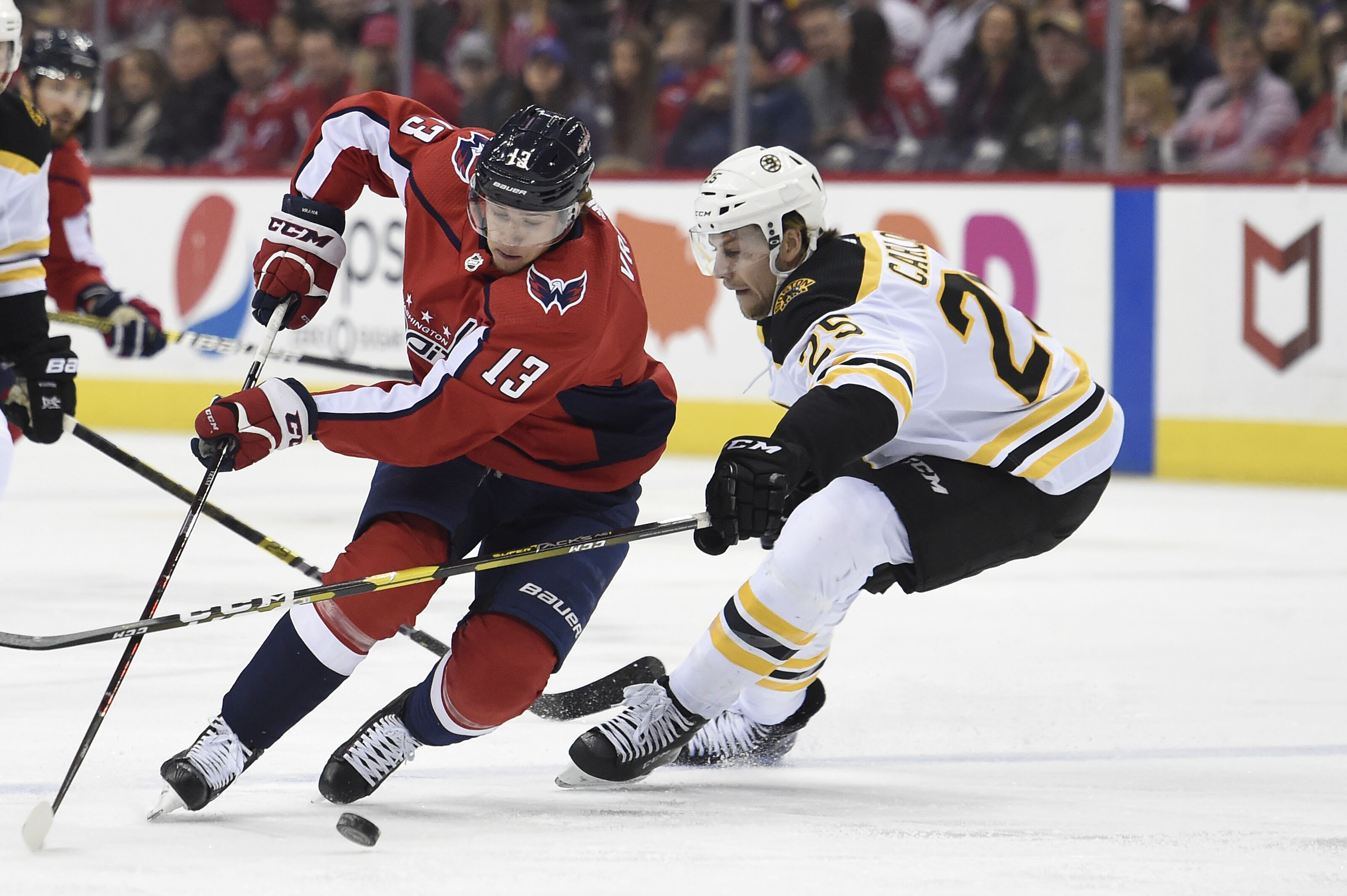 Boston Bruins: How about putting an offer sheet out to Jakub Vrana?
