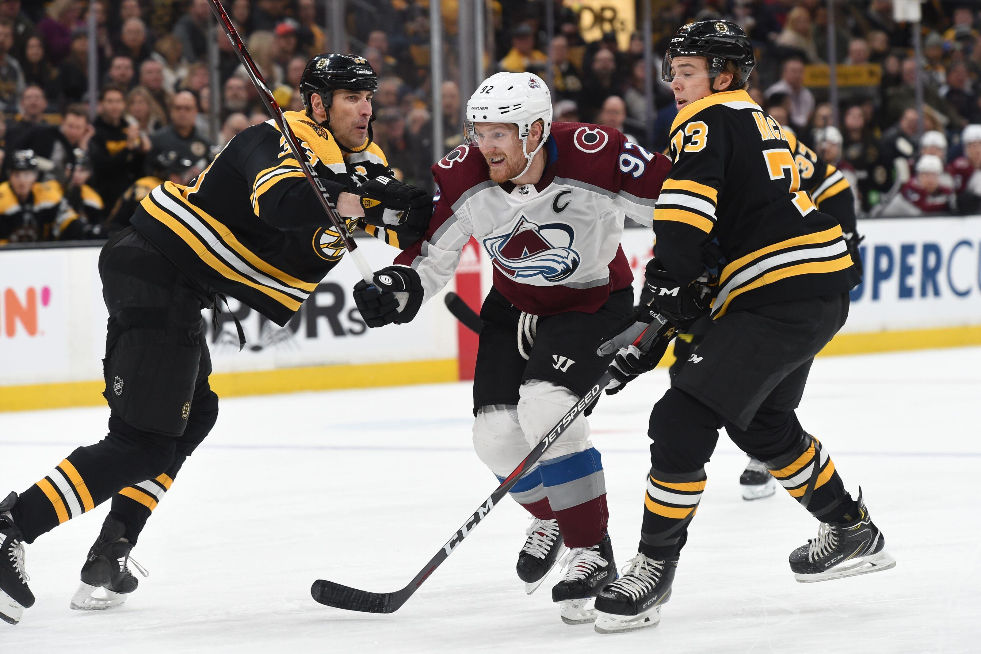 Boston Bruins vs Colorado Avalanche: Start time, live streaming, TV info