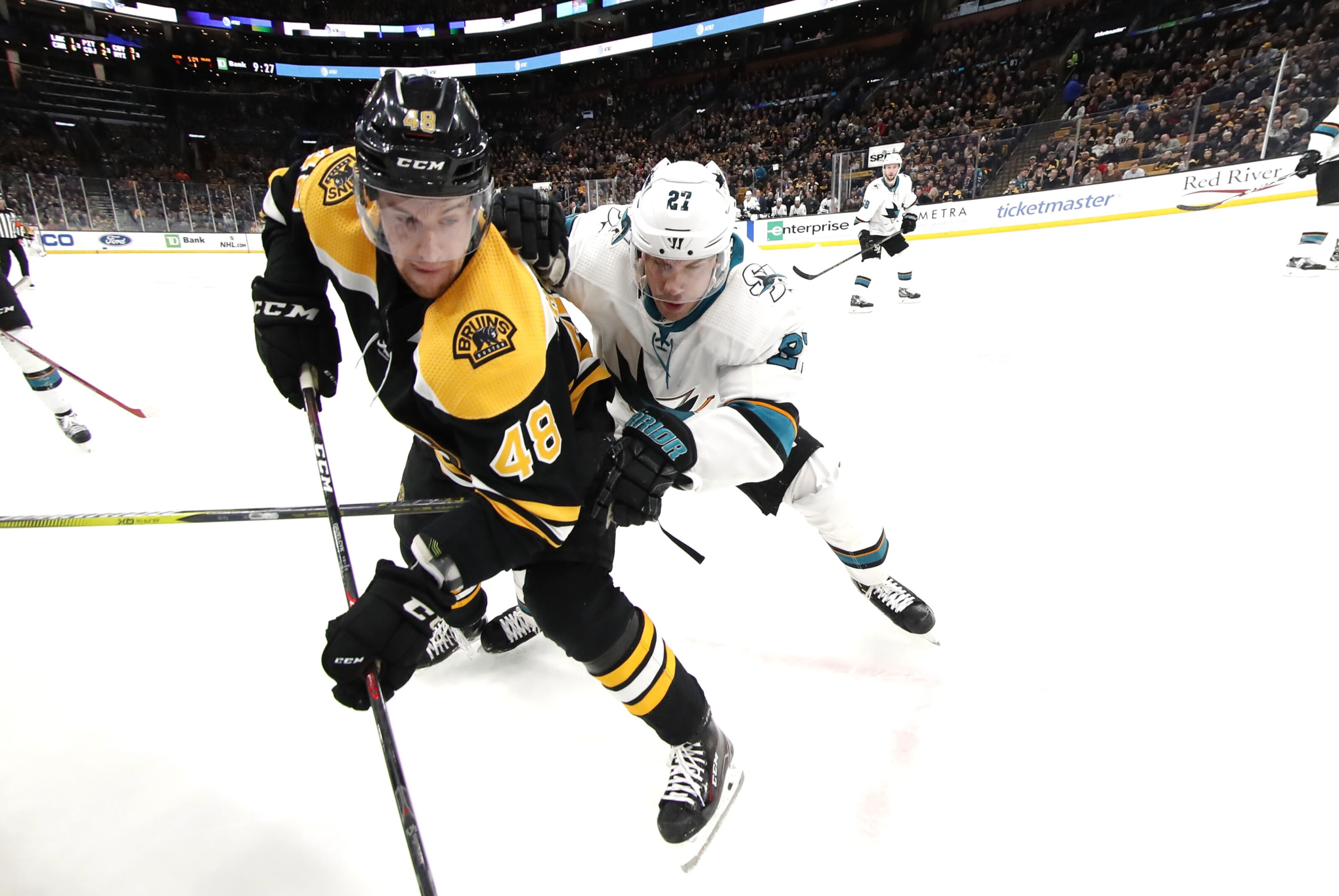 Boston Bruins: Pros and cons to facing the San Jose Sharks