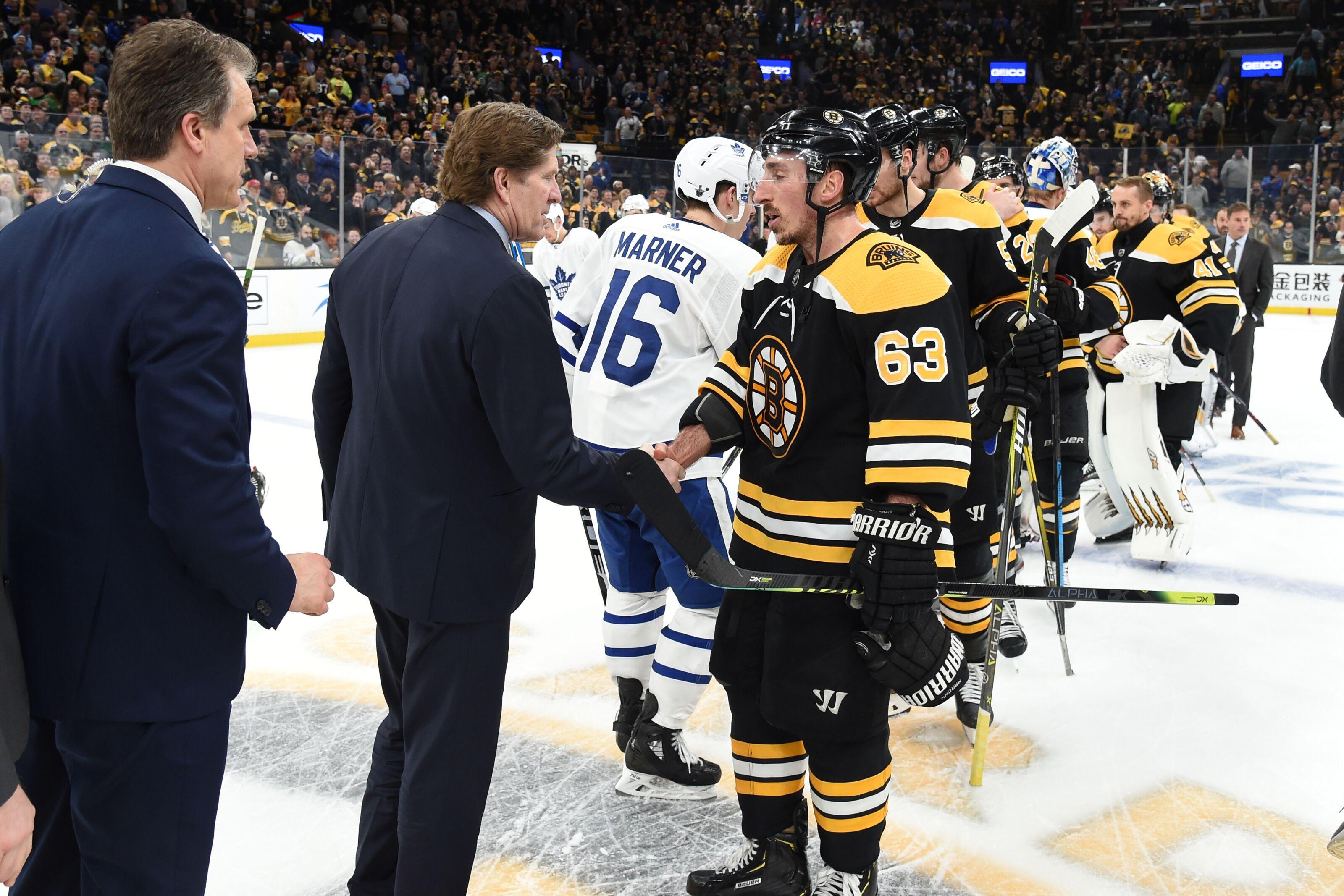 Boston Bruins: Mike Babcock names Bruins players he covets