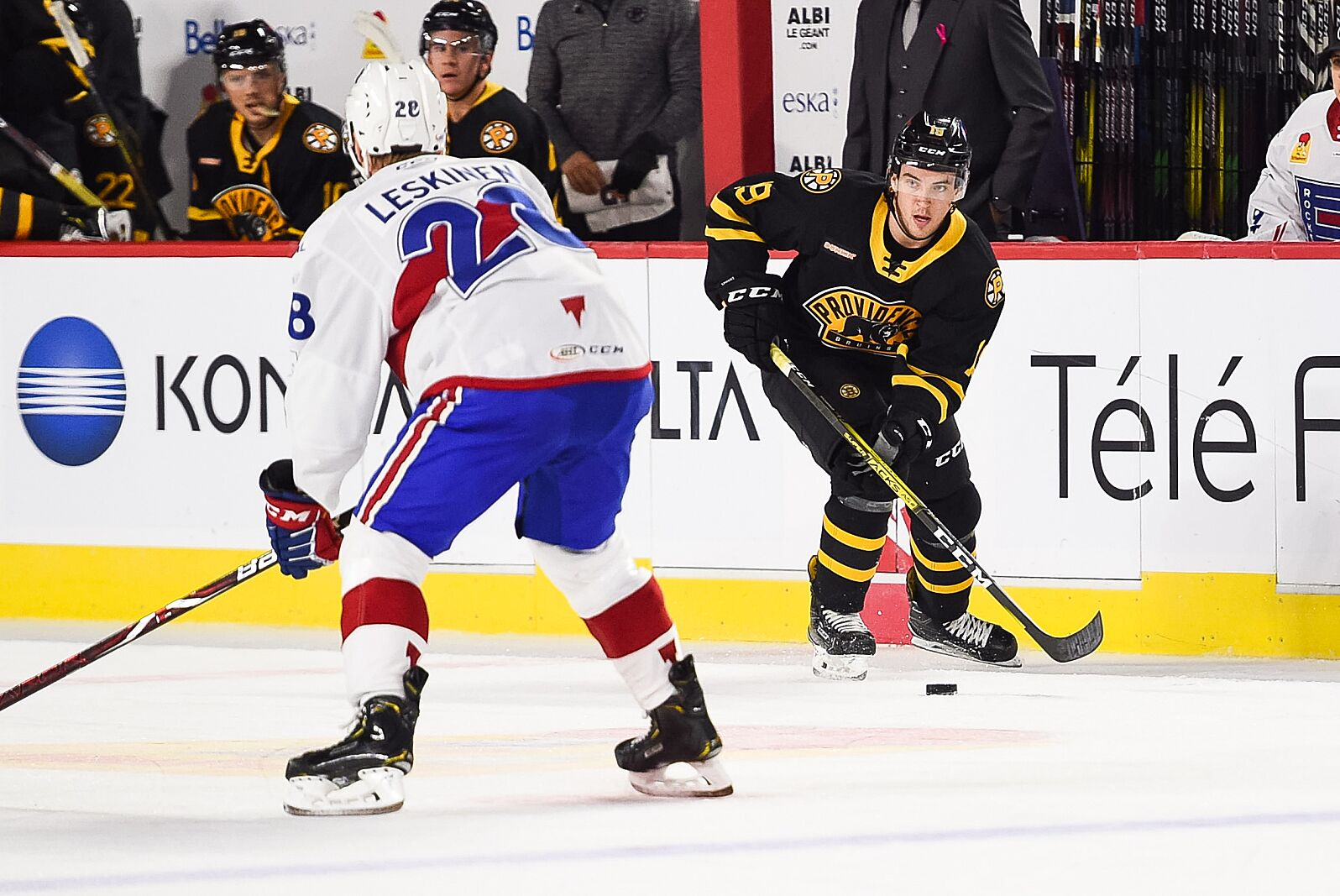 Boston Bruins: Friday on the farm with the Providence Bruins