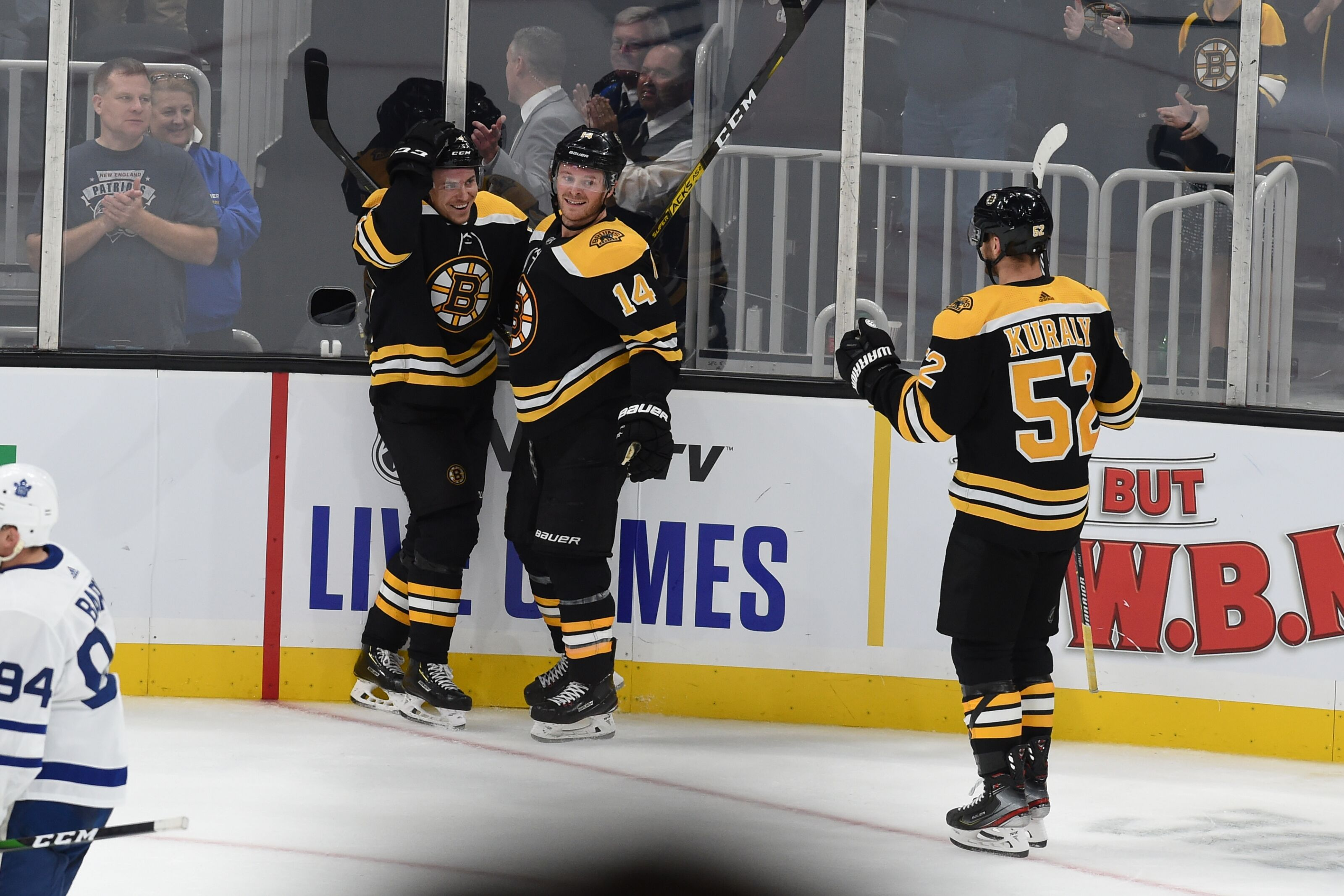 Boston Bruins: Injury list leads to a surprising second line in win over Leafs