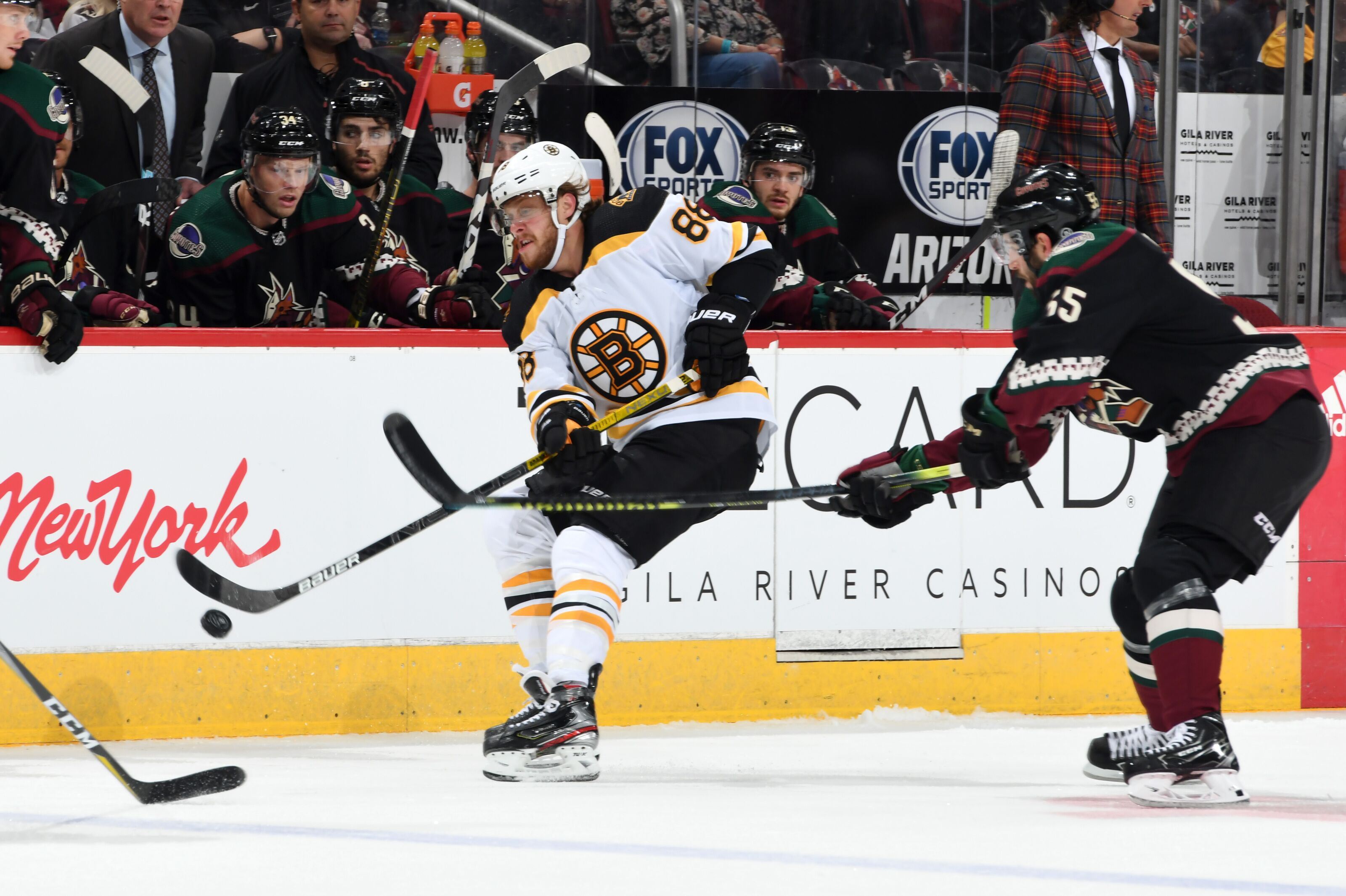 Should the Bruins change the first power play unit?