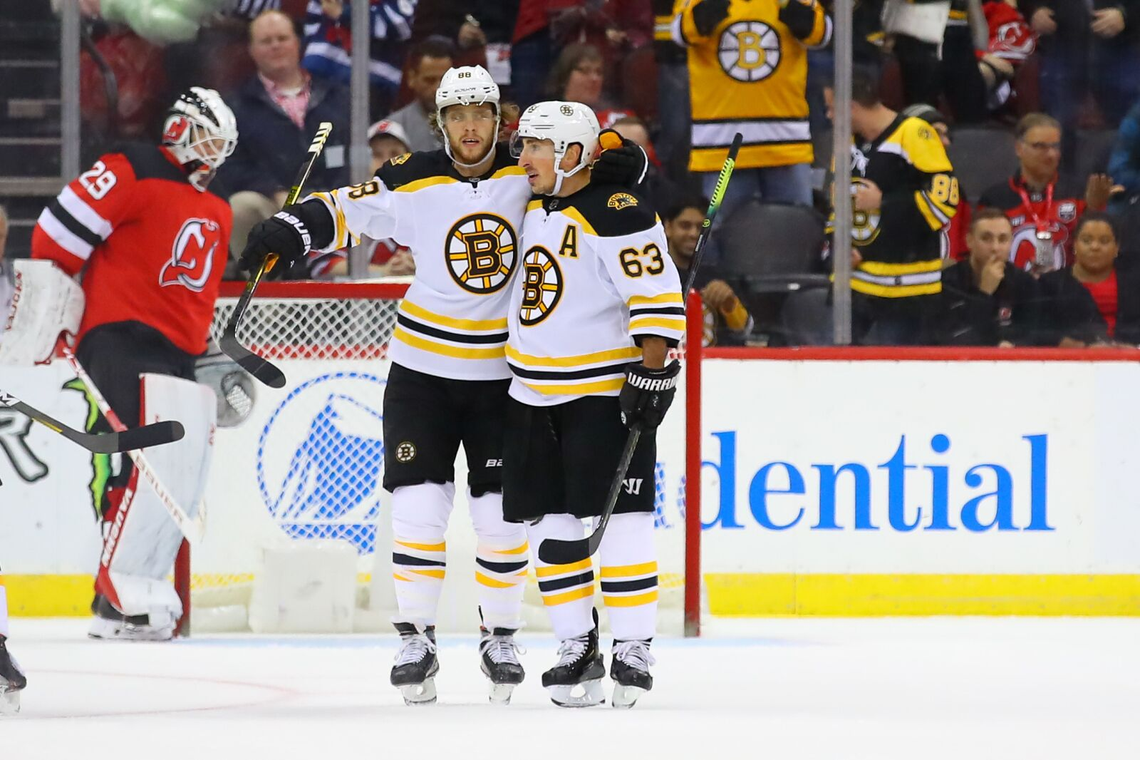 Boston Bruins: Past two games give reason to break up top line