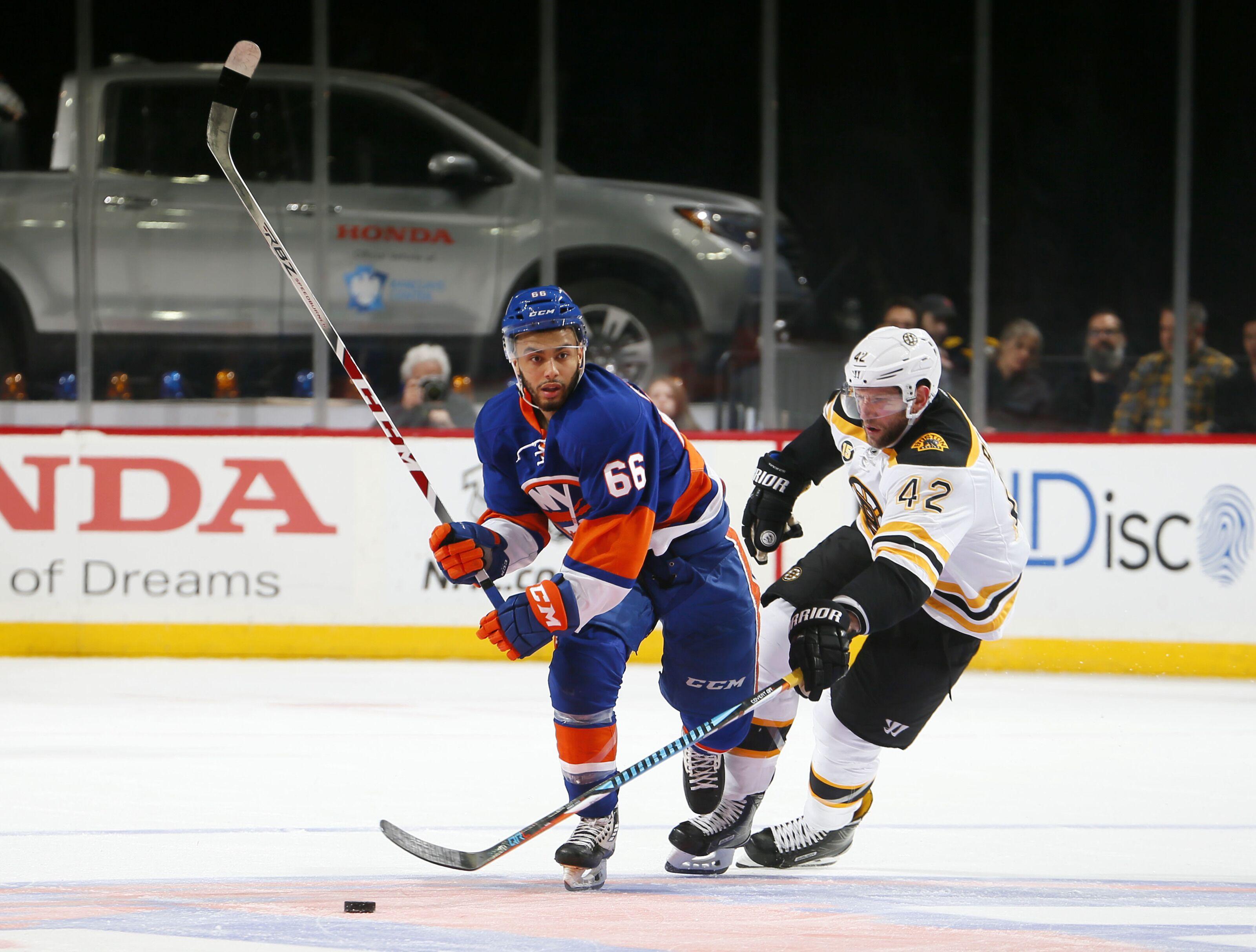 Boston Bruins: Does Joshua Ho-Sang hold any interest?
