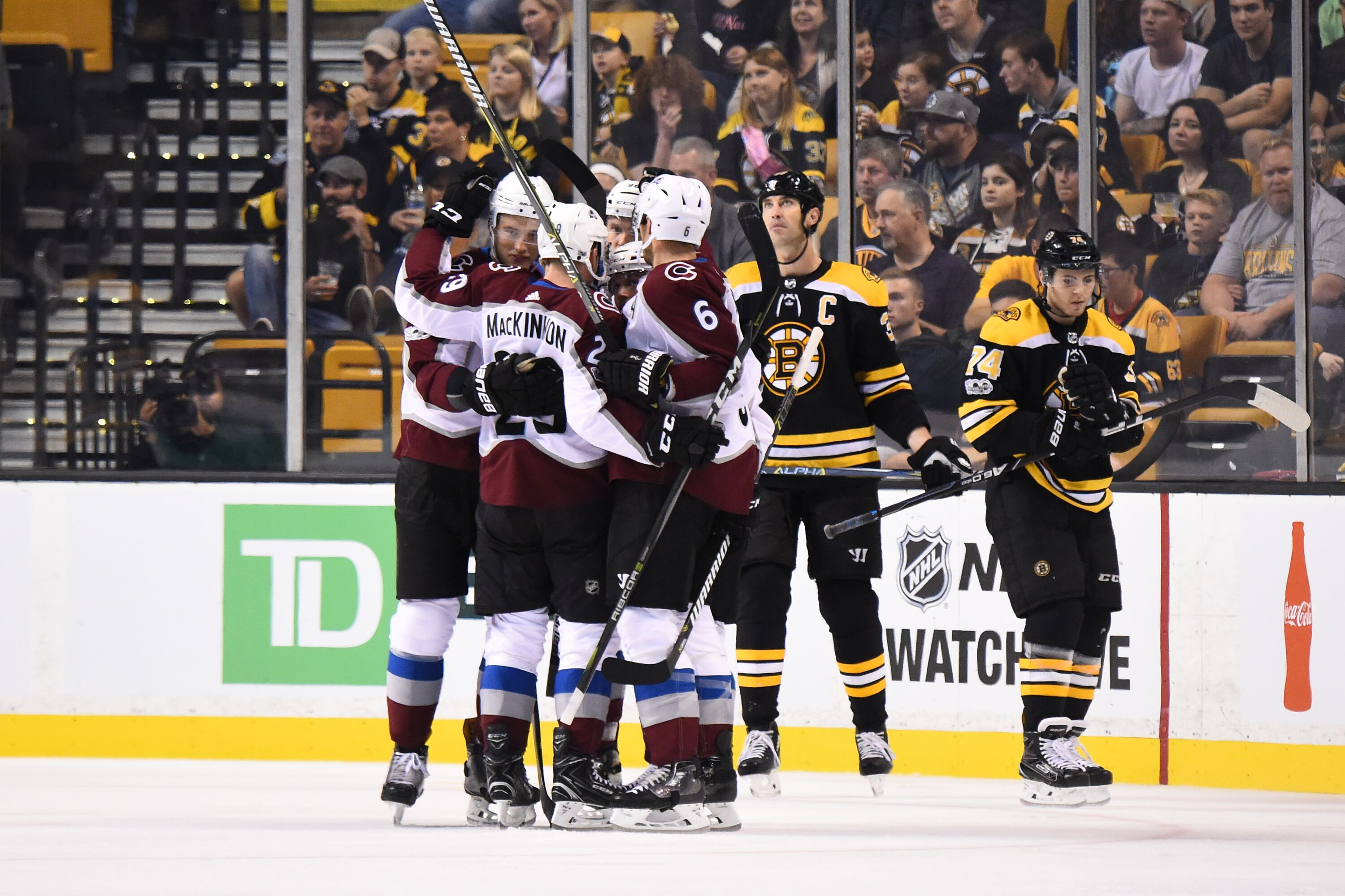 Boston Bruins: Boston Bruins Downed By Avalanche At Home In Monday Matinee