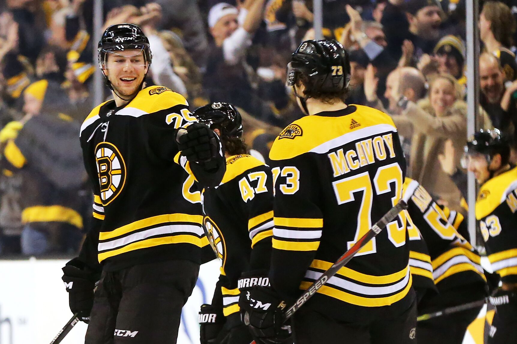 Boston Bruins: Why aren't Charlie McAvoy and Brandon Carlo signed yet?