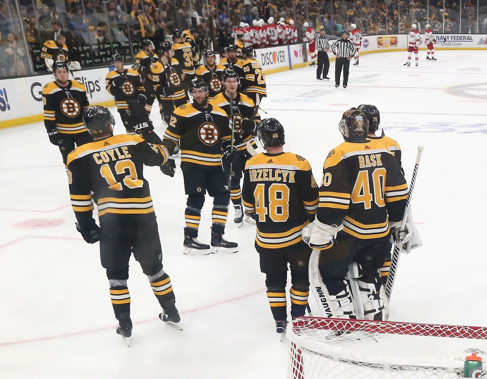 Boston Bruins: Much more than 'just a one line team' Bruins Roster