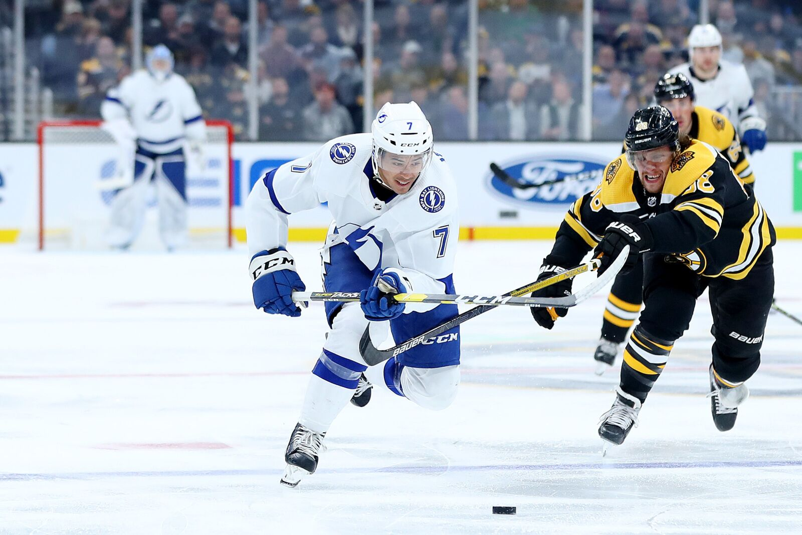 Boston Bruins: David Pastrnak the stand-out despite loss to Tampa