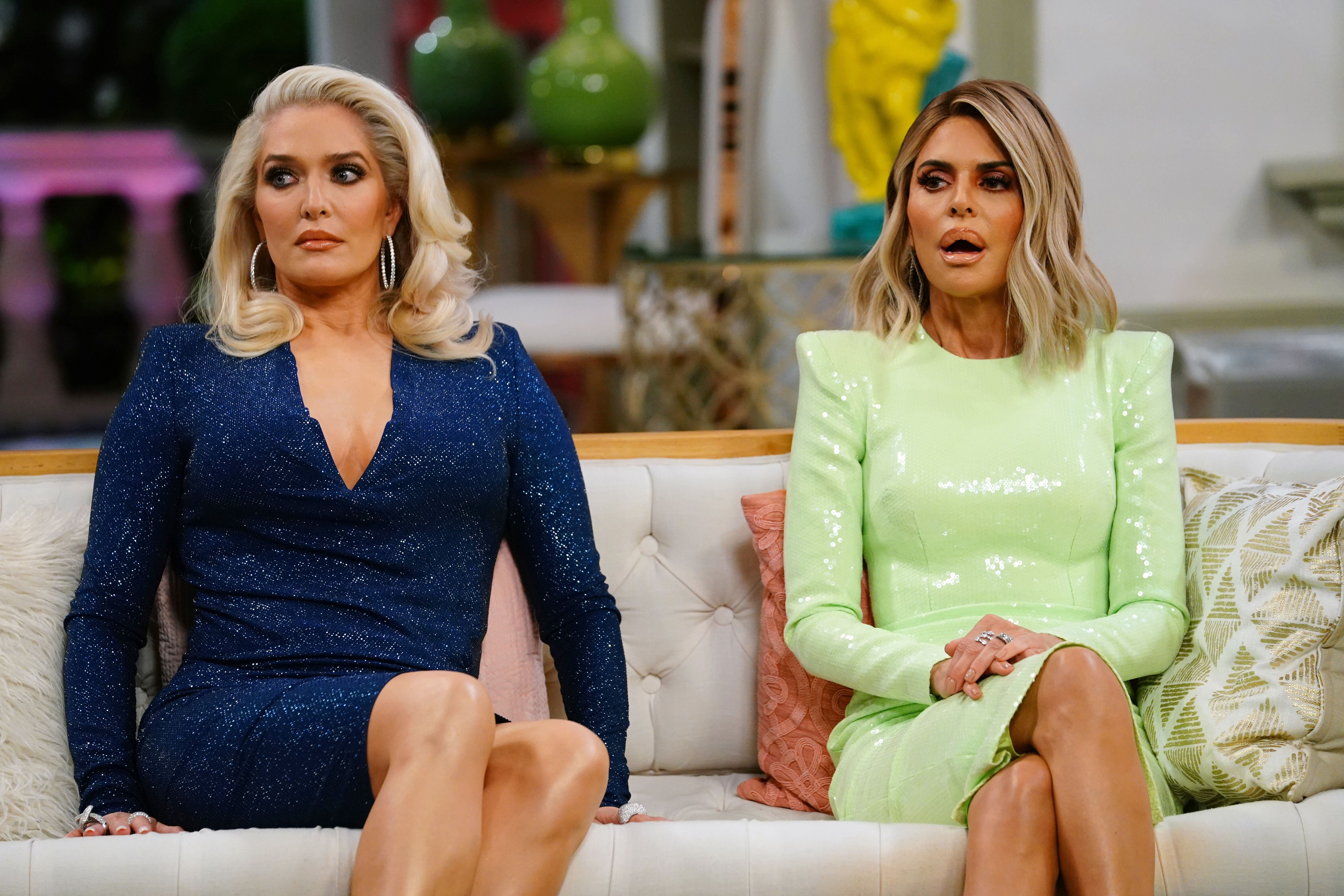 The Real Housewives of Beverly Hills: The dramatics of the reunion - part 1