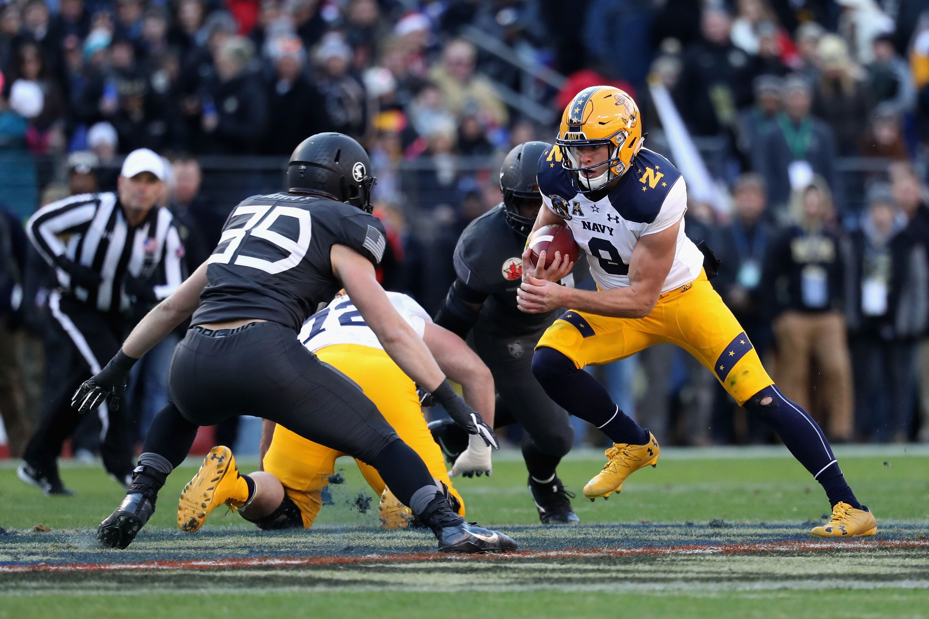 Why the Army-Navy football game might be the best sporting event