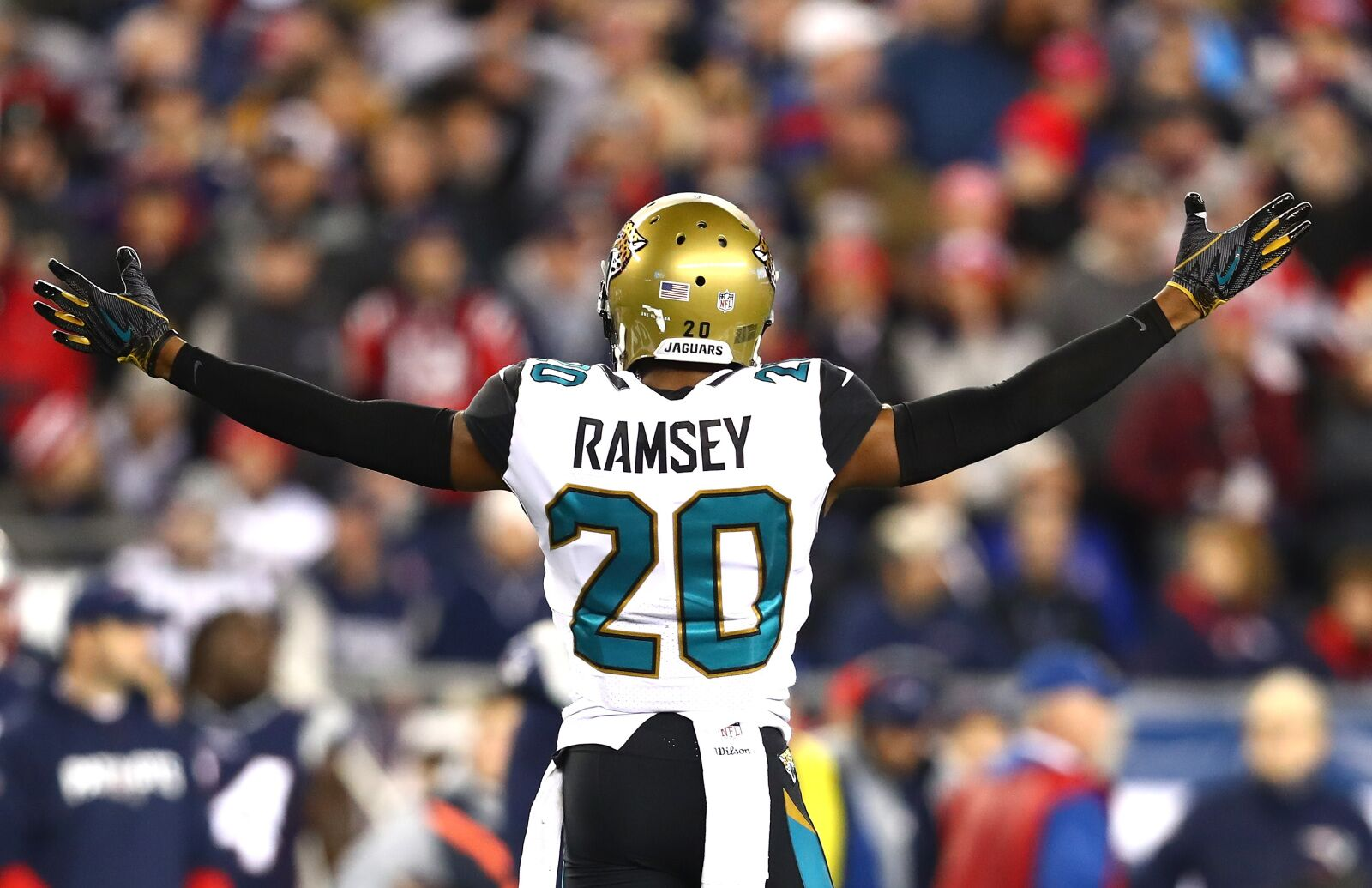 brand new 5f8f7 566f0 Jalen Ramsey right to clap back at comments from Jaguars ...