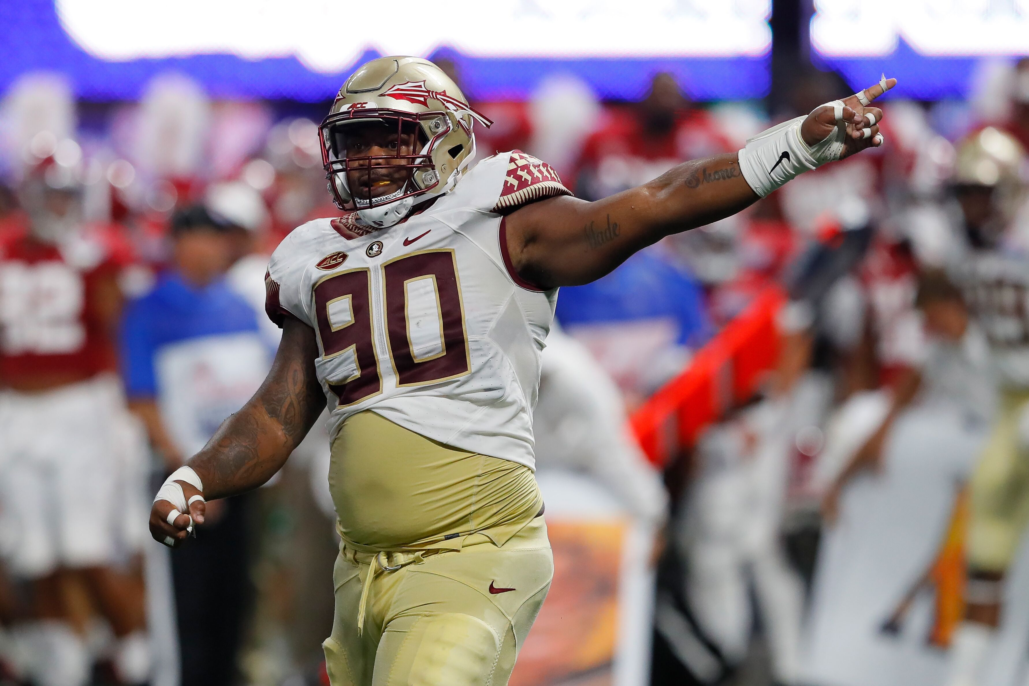 Image result for demarcus christmas fsu