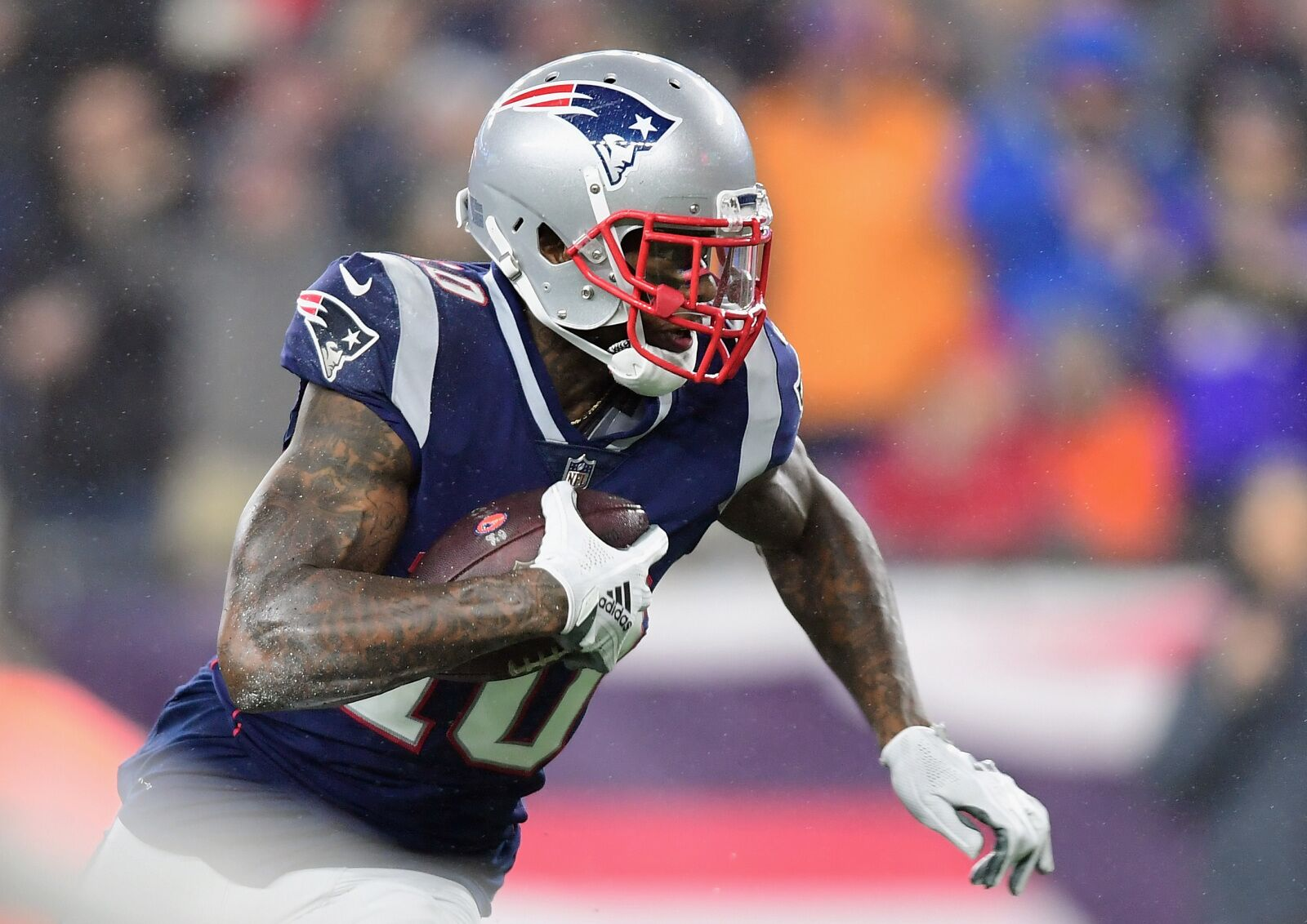 f5d309e10 New England Patriots  Josh Gordon proved this one thing in 2018
