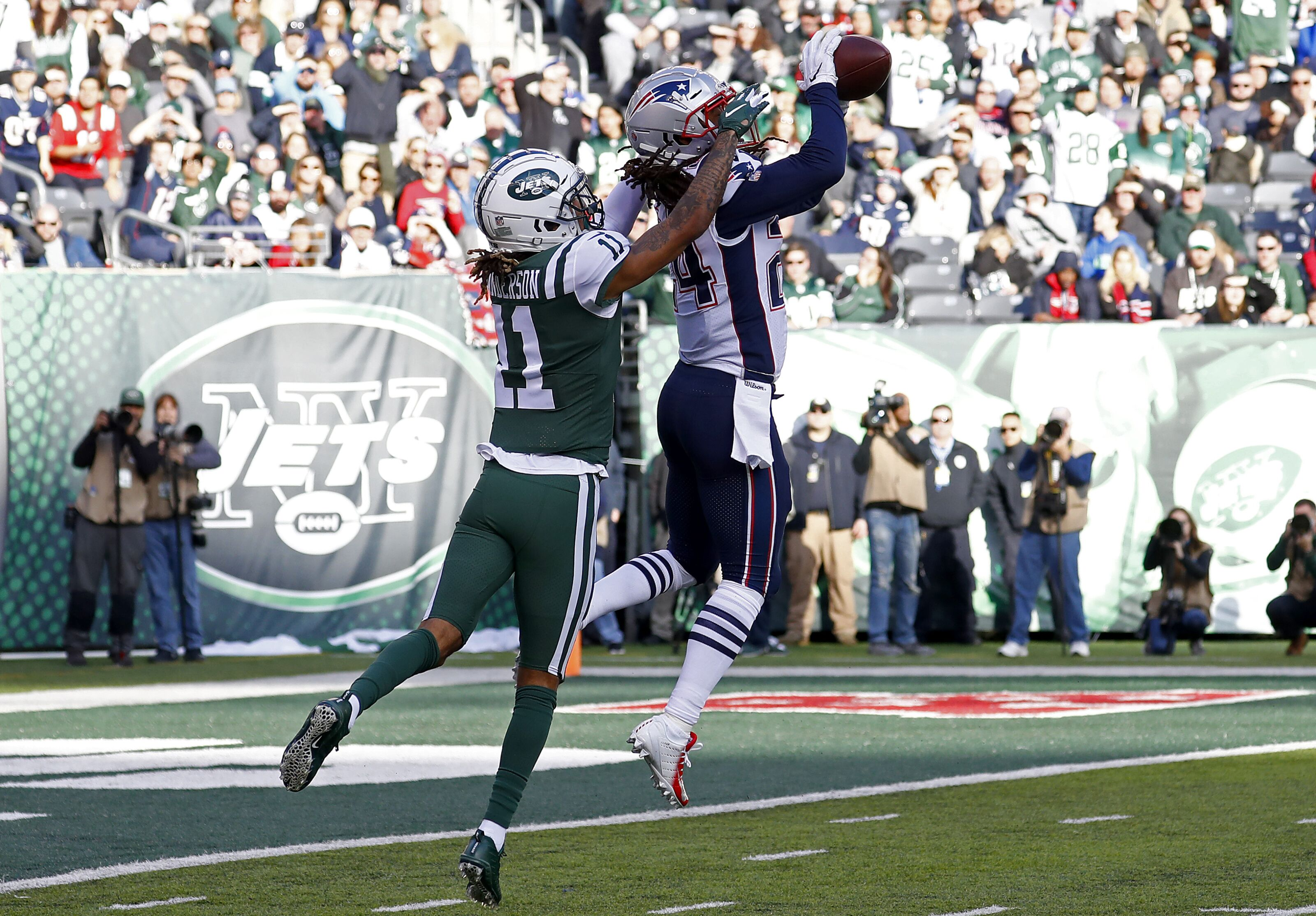 4aaed851b New England Patriots  All-Pro honors tops off Stephon Gilmore s season