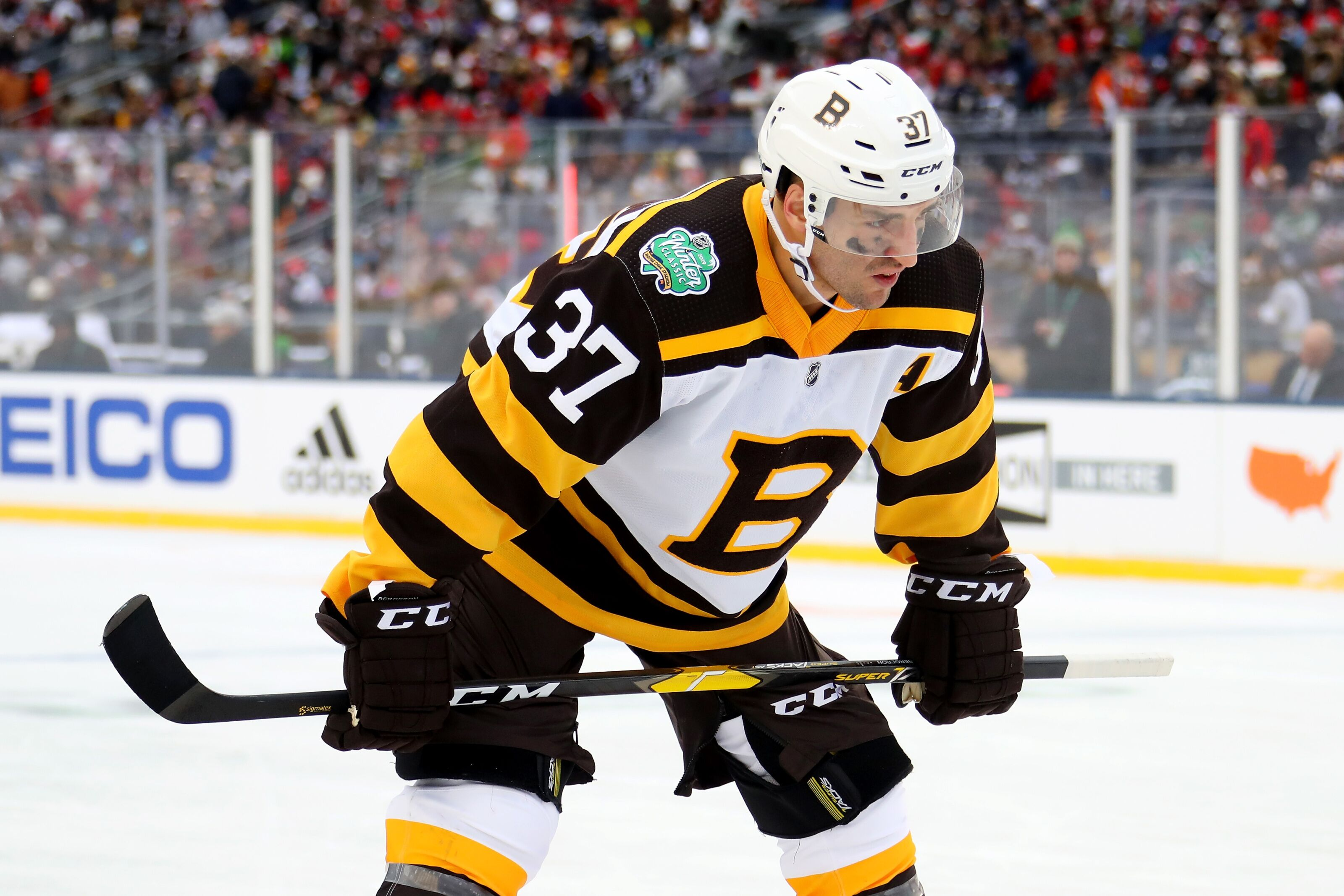 Boston Bruins  Patrice Bergeron s 1000th game was a masterpiece 8bba5e9bf