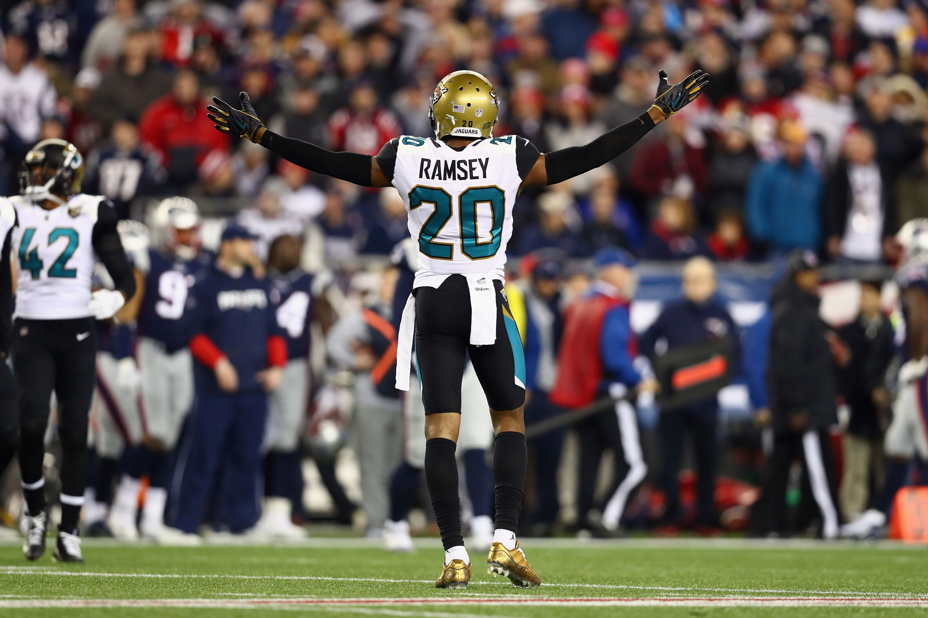 new products bb32c 2cca7 New England Patriots rumors: Jalen Ramsey would be great ...
