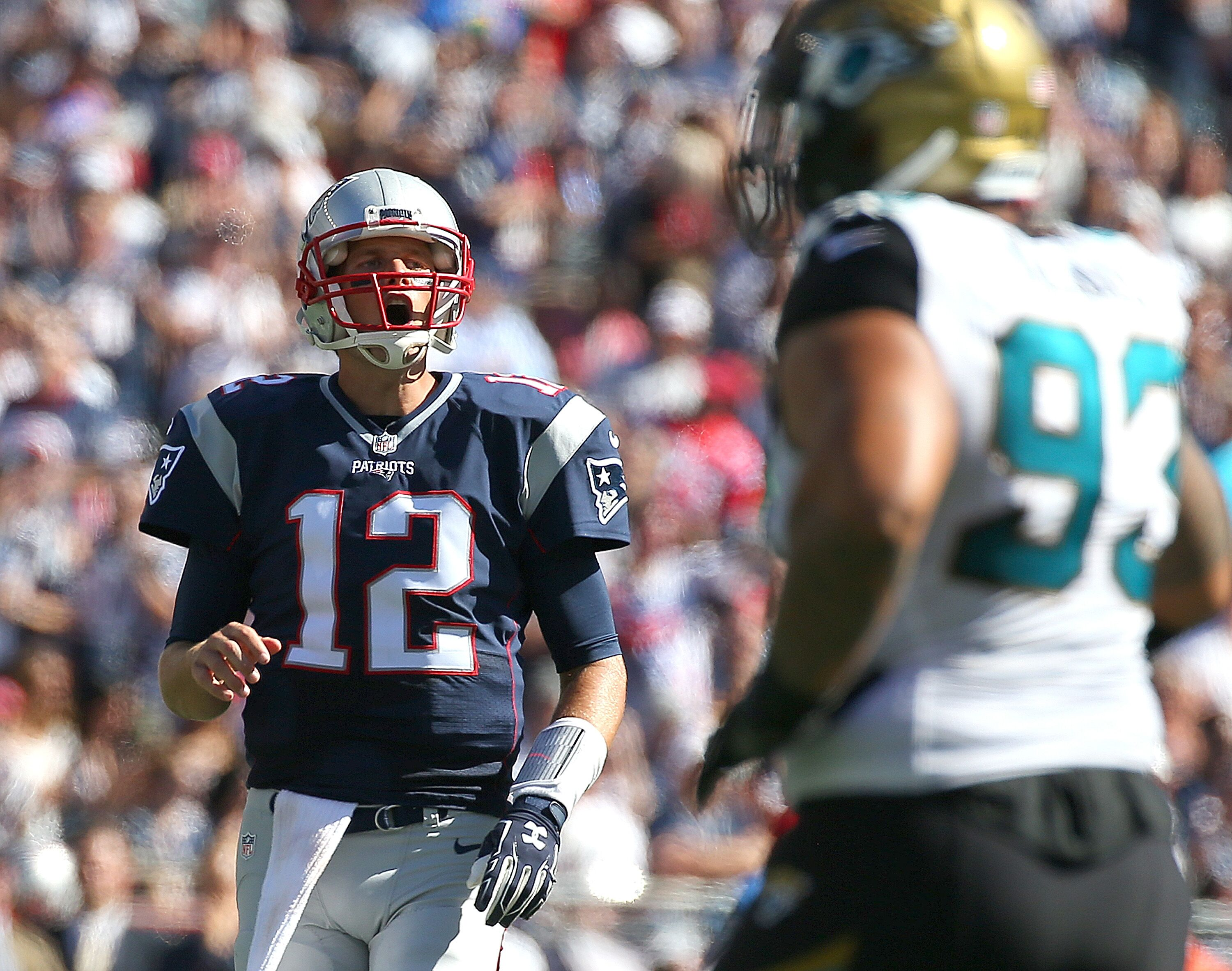 The New England Patriots and Jacksonville Jaguars square off in the AFC Championship at Gillette Stadium on Sunday January 21 2018