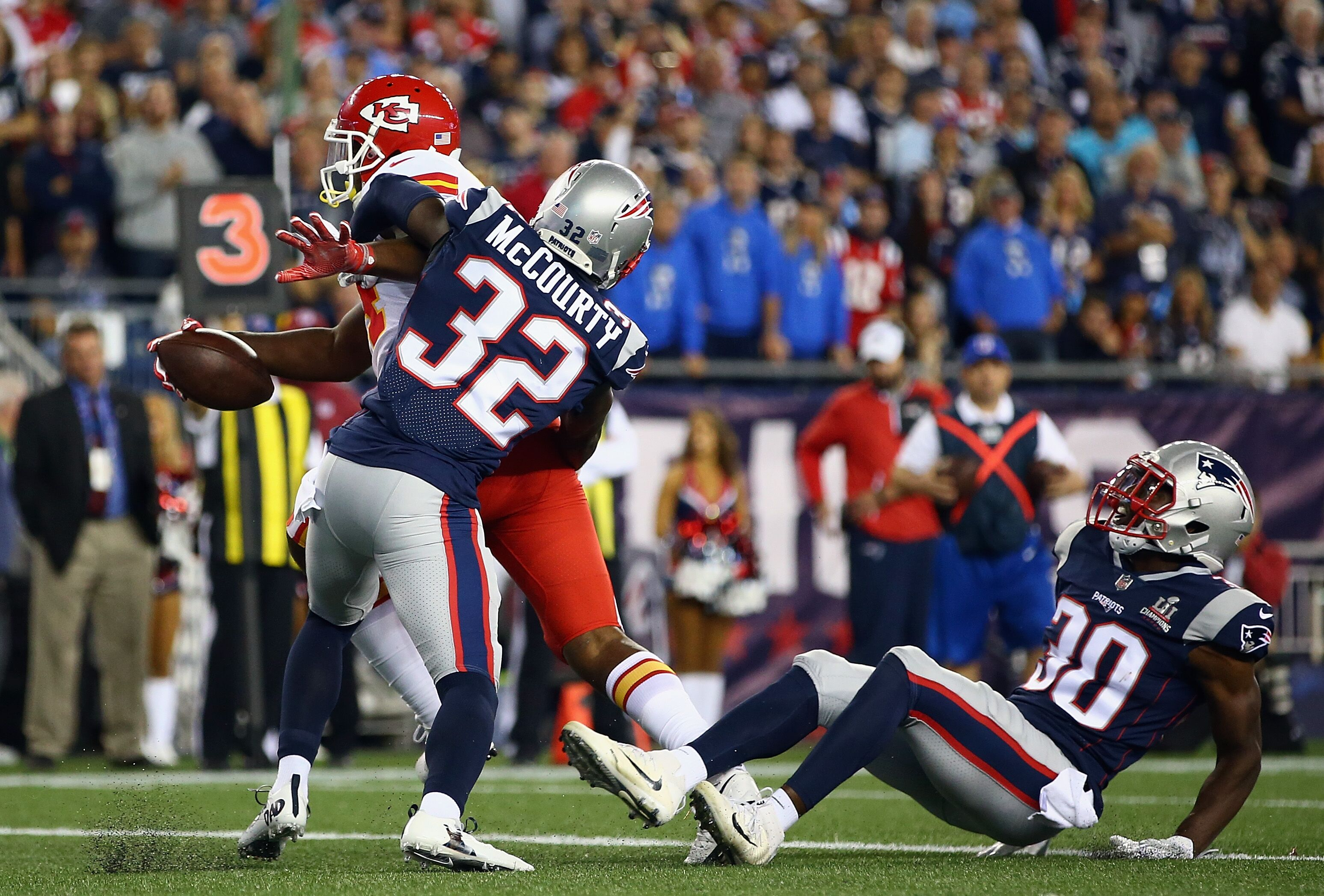 New England Patriots Secondary success begins with Devin McCourty