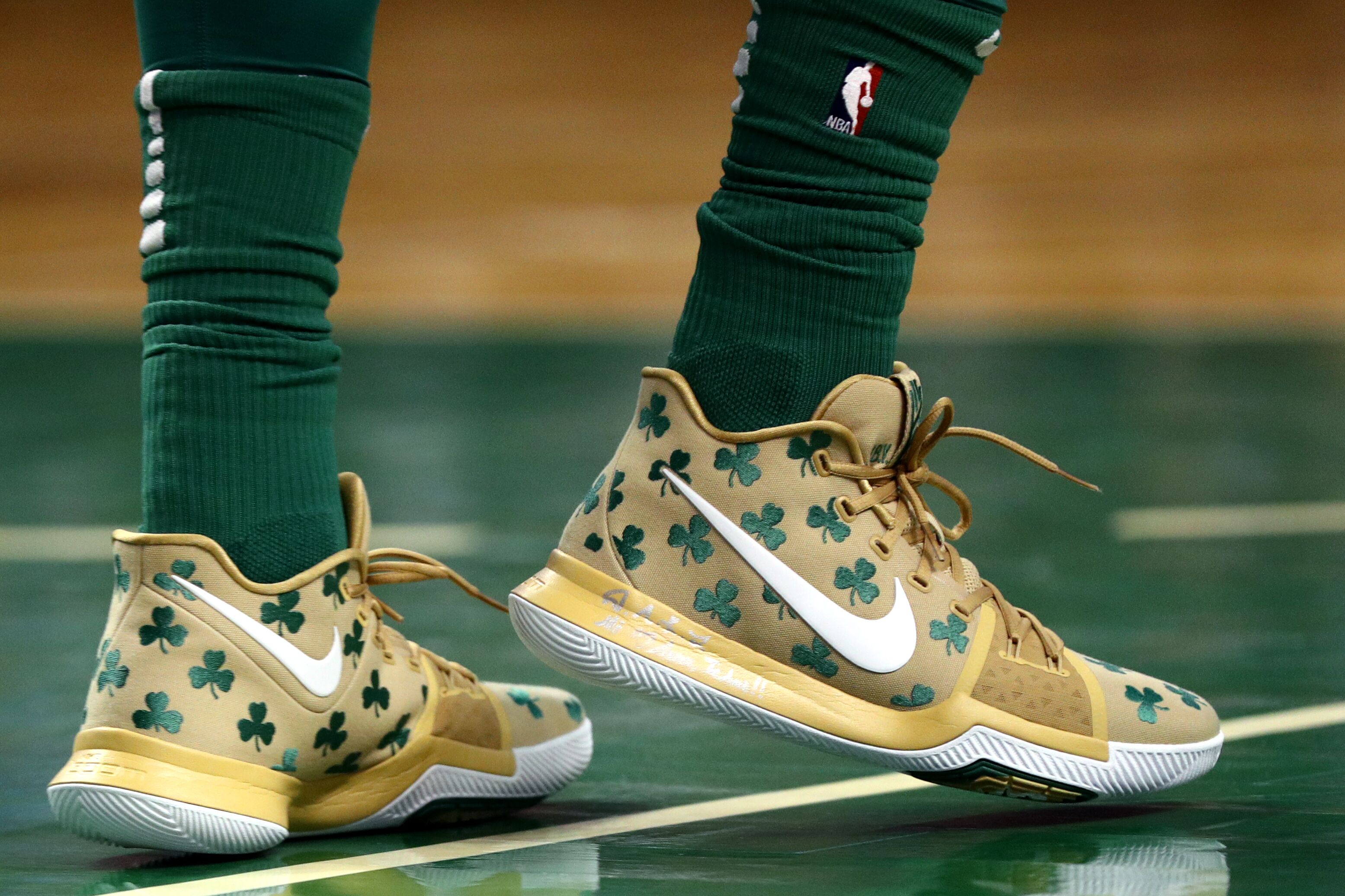 best loved 21b69 1a47f Boston Celtics  Top 5 Kyrie s that Irving has rocked on the parquet ...