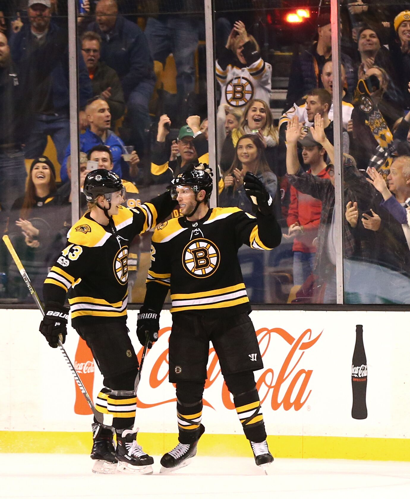 Boston Bruins: David Backes Leads B's To Mammoth 6-1 Victory