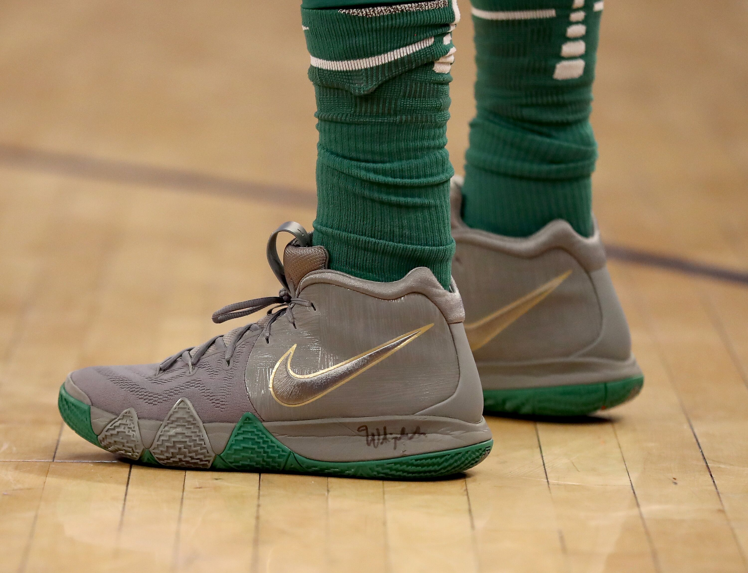 a90b98a13ee Boston Celtics  Top 5 Kyrie s that Irving has rocked on the parquet