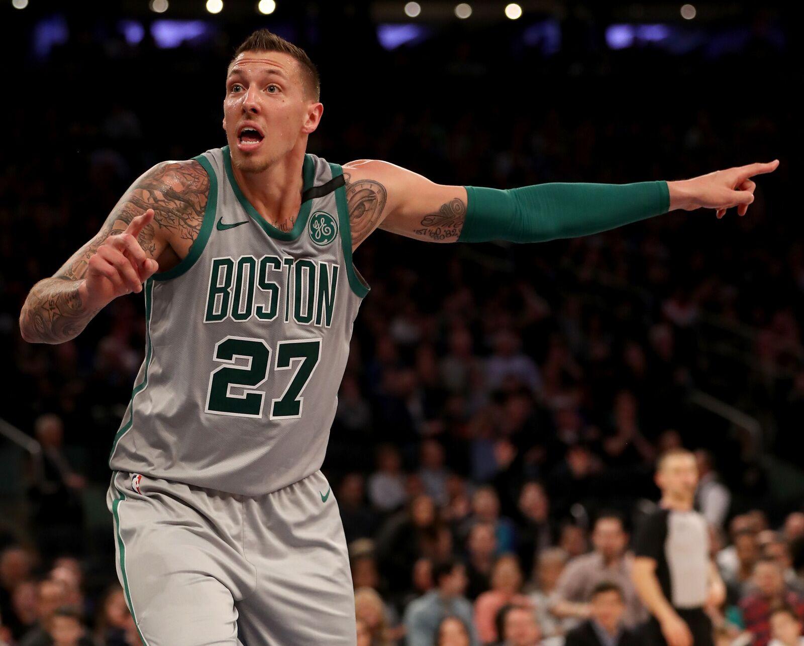 Boston Celtics player report card 2017-18  Daniel Theis f75510675