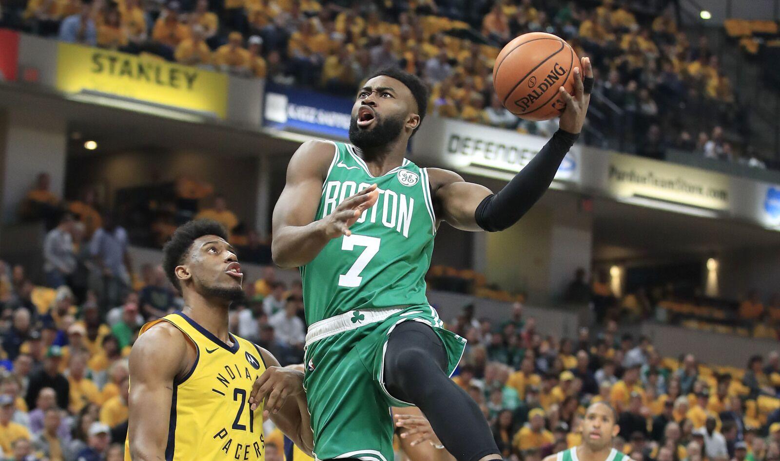 the best attitude e3e1a e10ea Boston Celtics: Jaylen Brown entering very own