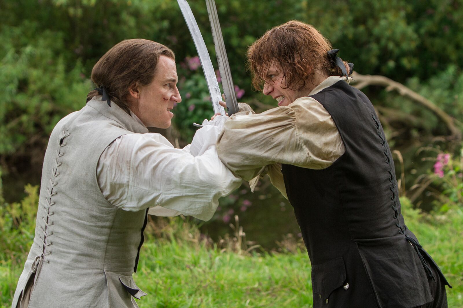 Why would Jamie break his vow to Claire on Outlander?