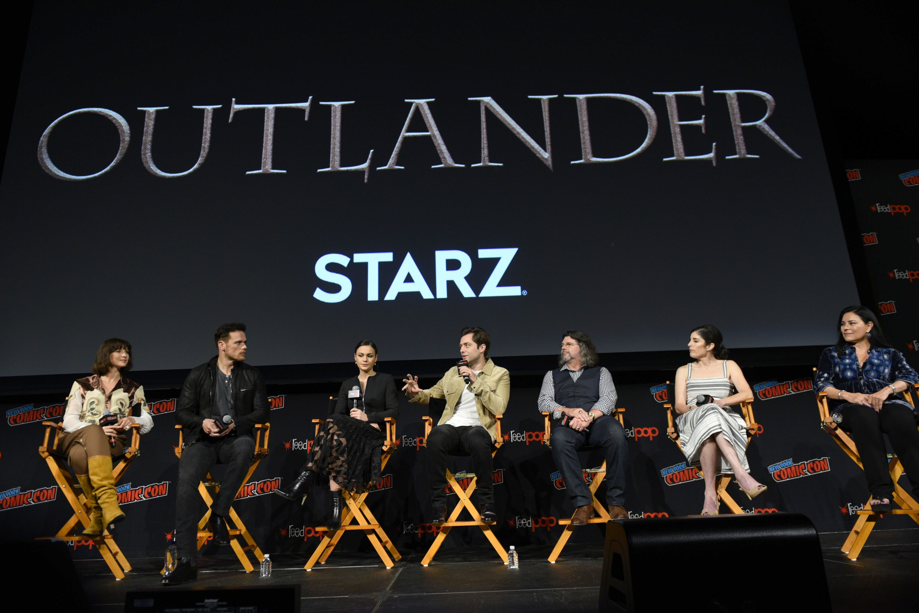 Outlander will take to the stage at New York Comic-Con 2019