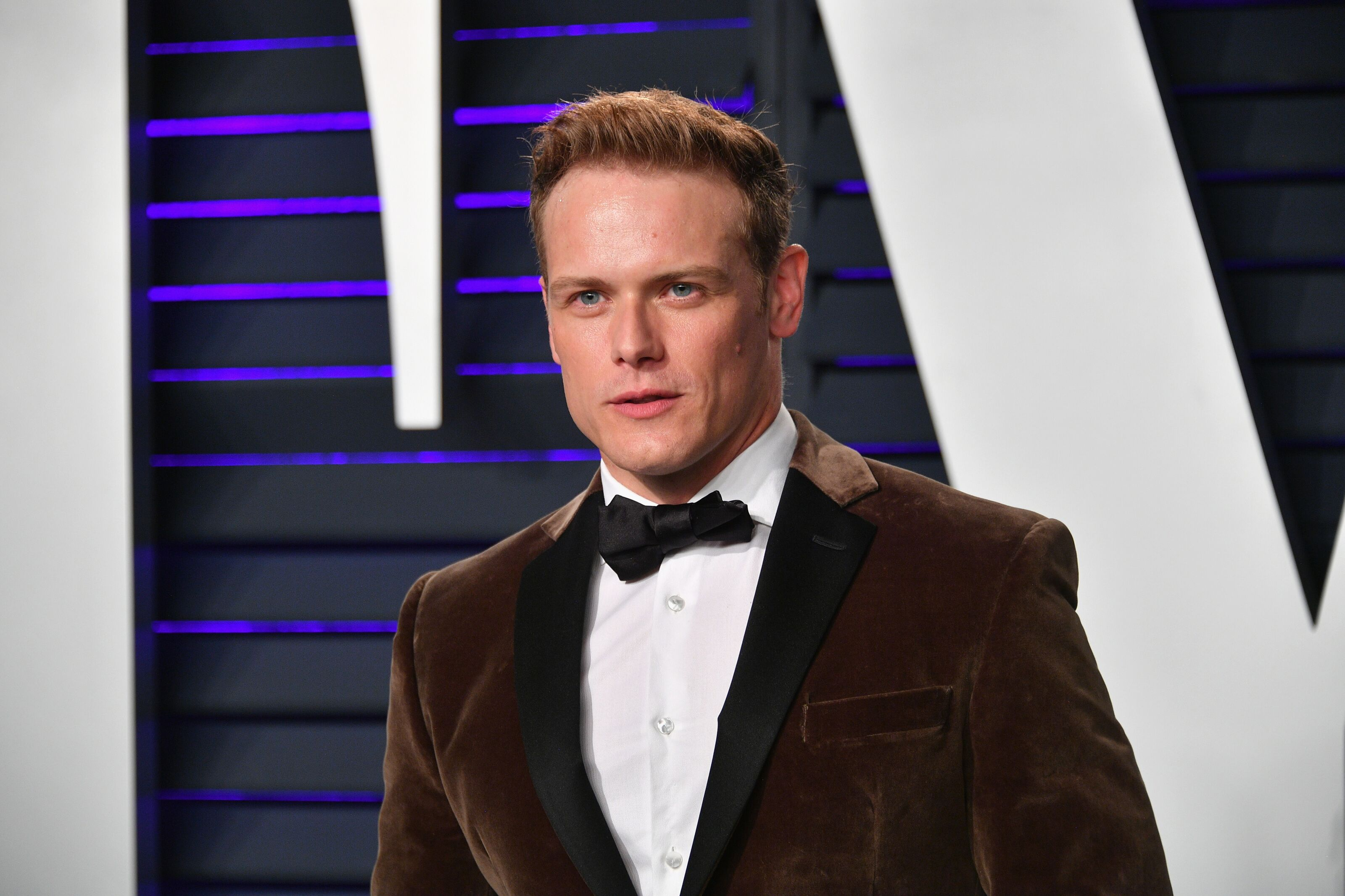 Outlander stars not photographed at the Oscars after party isn't sinister!