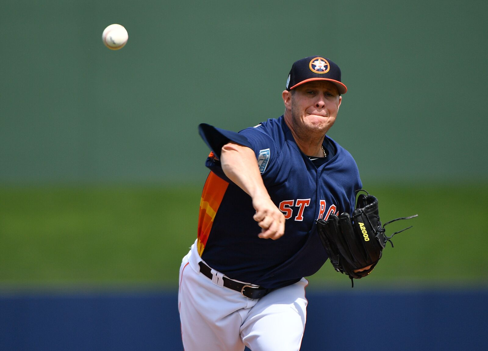 Astros: Peacock making it a one-man race for 5th spot