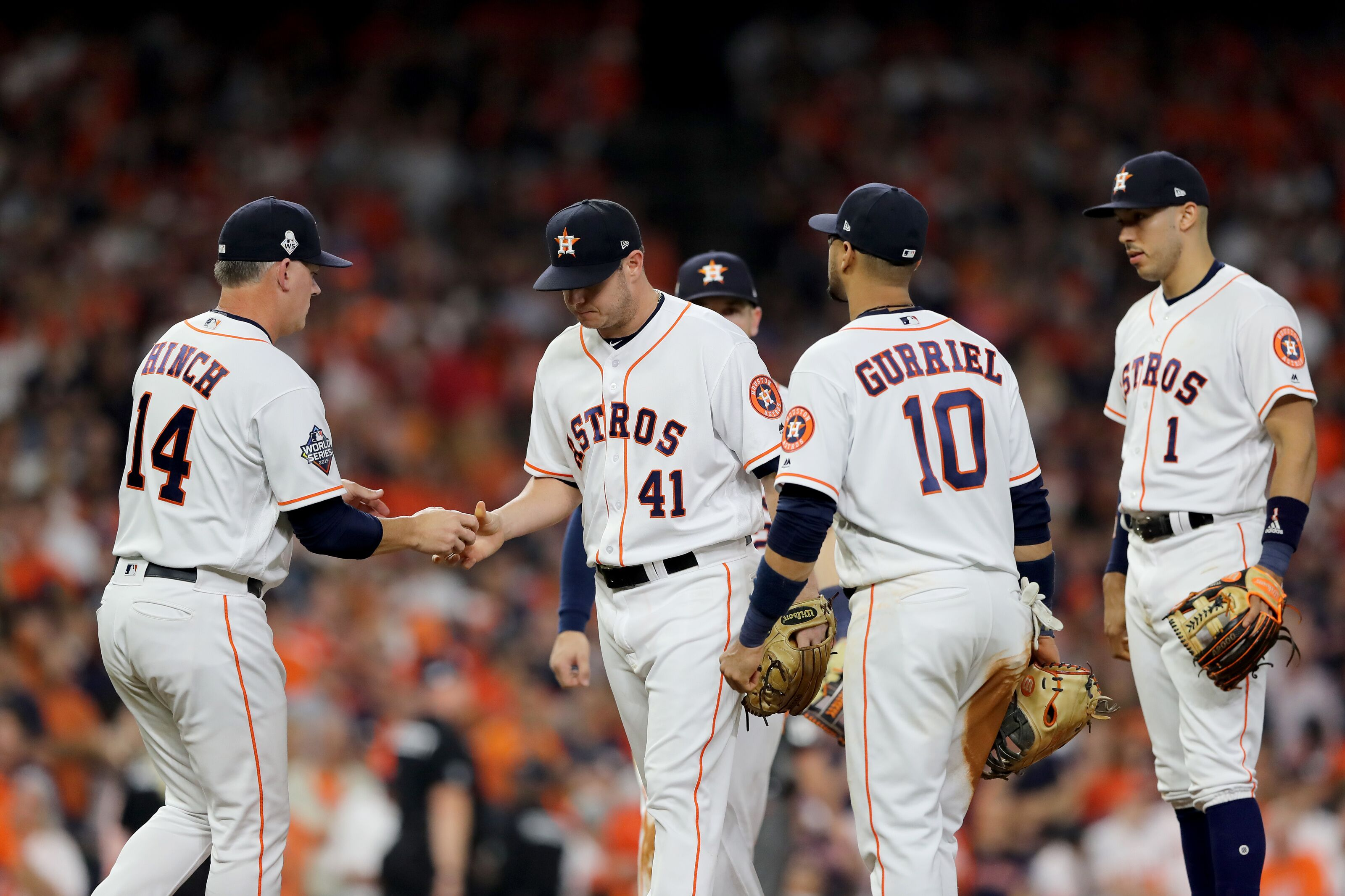 Astros: Brad Peacock may be out of starting competition