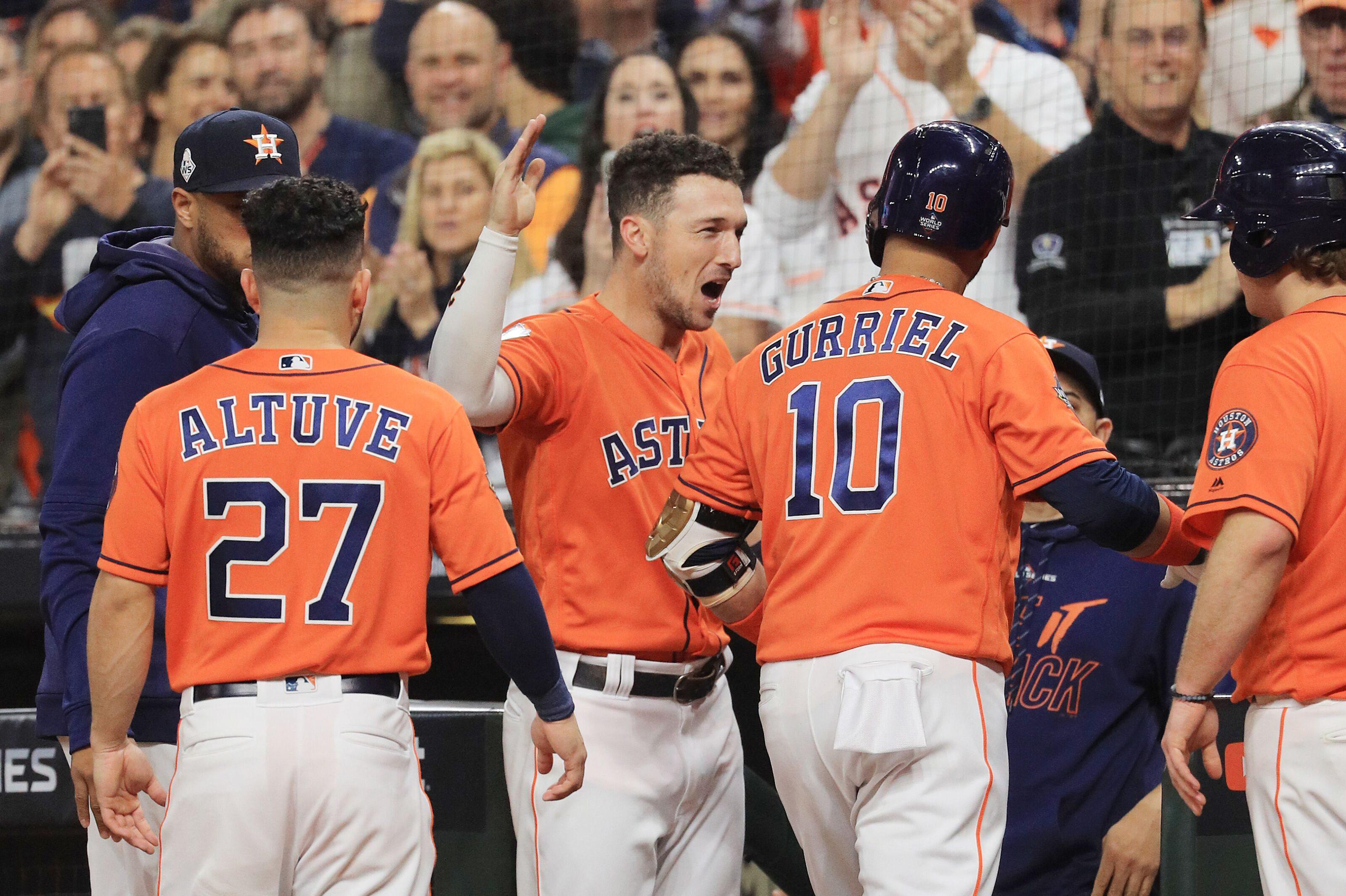 Astros: 10 players named candidates for inaugural All-MLB teams