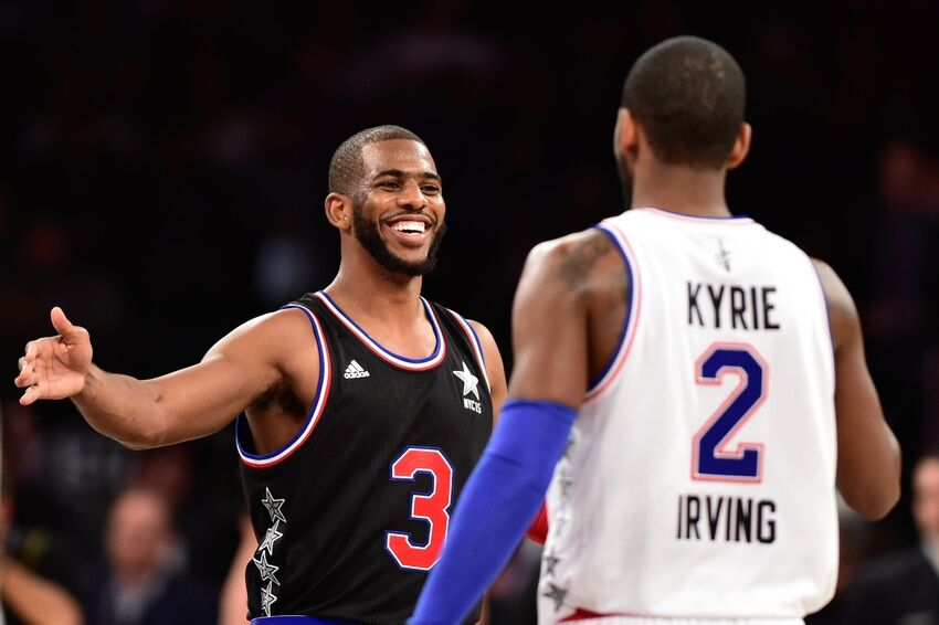 9923f7c7a (Video) Chris Paul drops double-double in All-Star Game