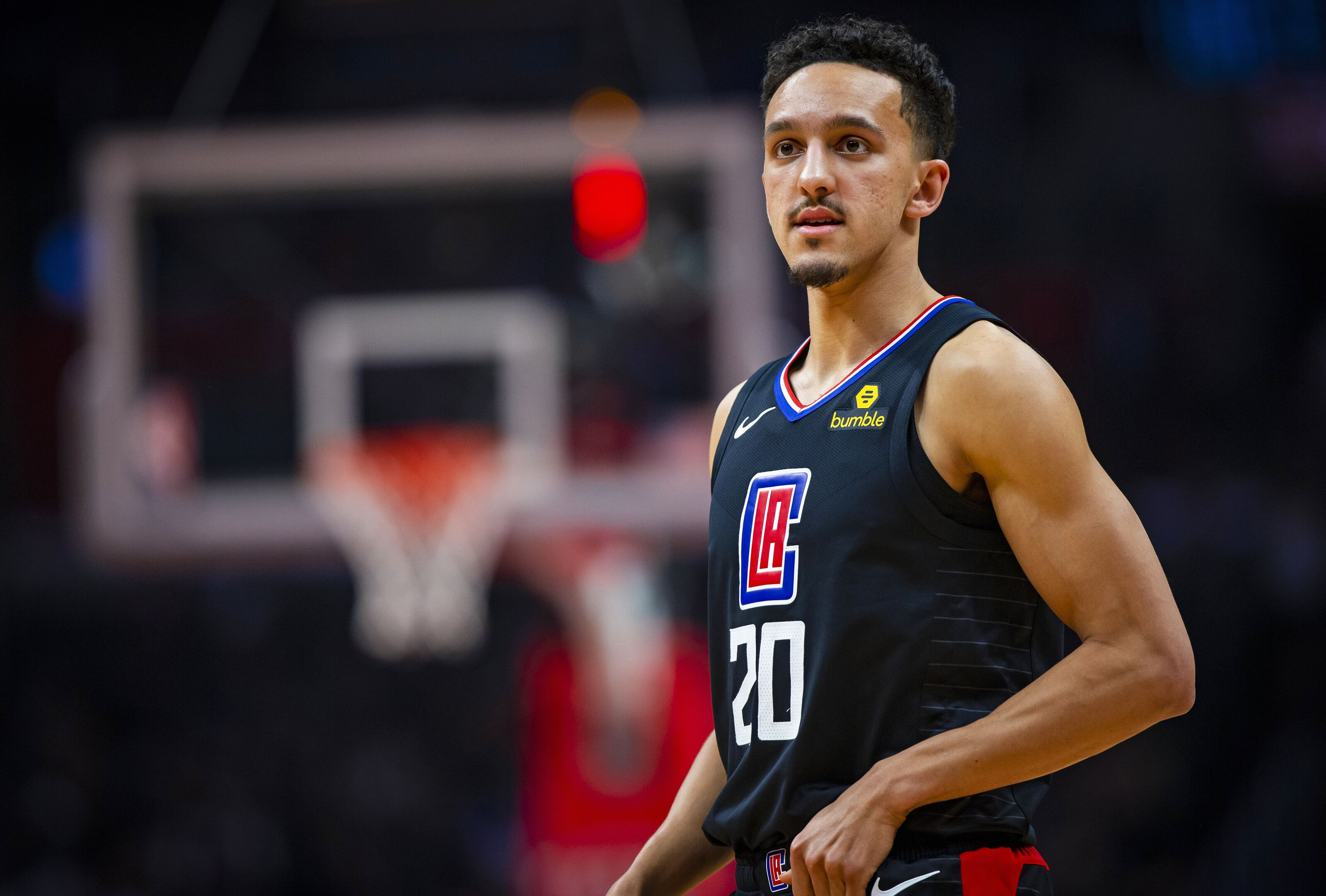 13311a6fa44a LA Clippers guard Landry Shamet could