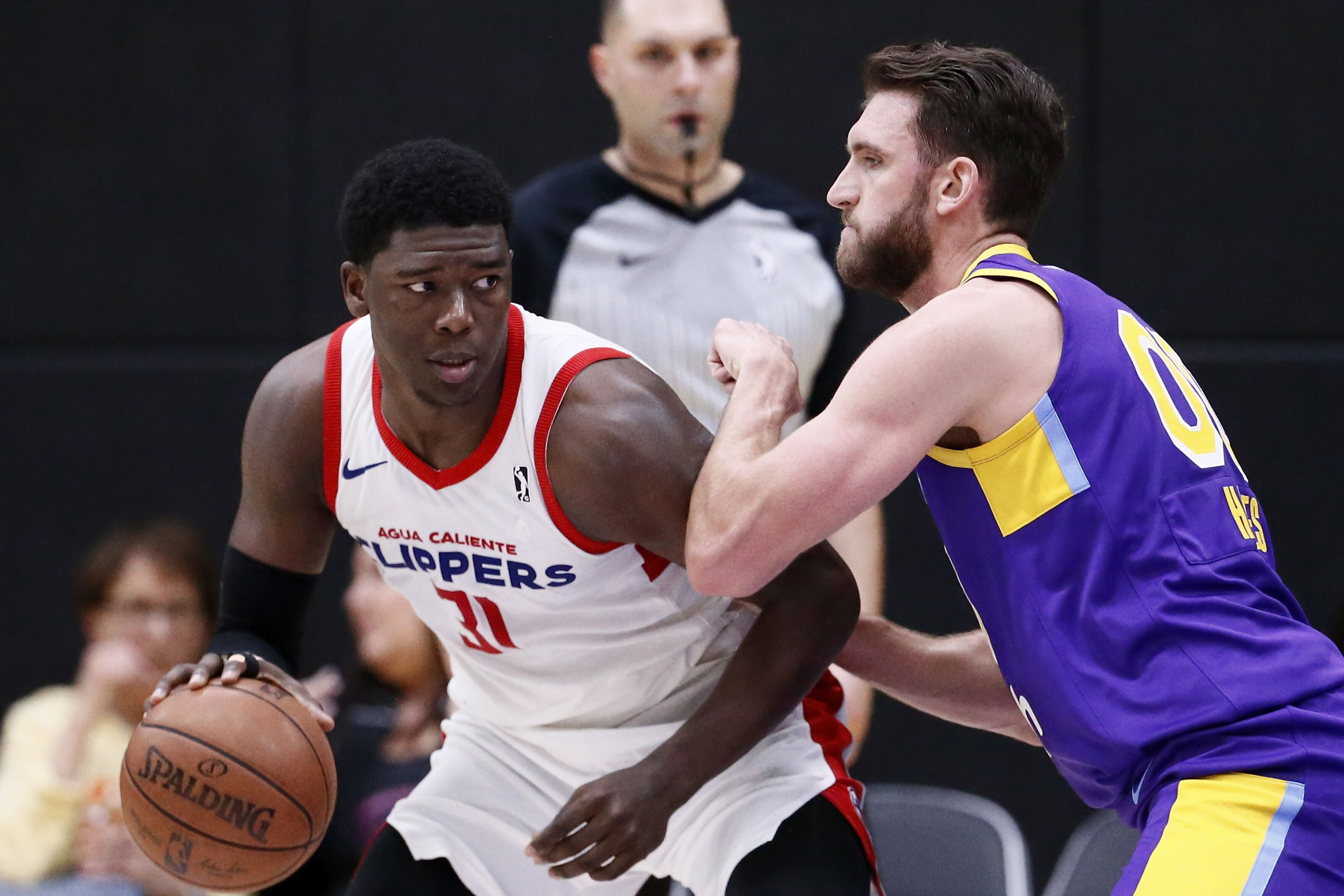 24f5c87f4c44 LA Clippers center Angel Delgado named G League Rookie of the Year