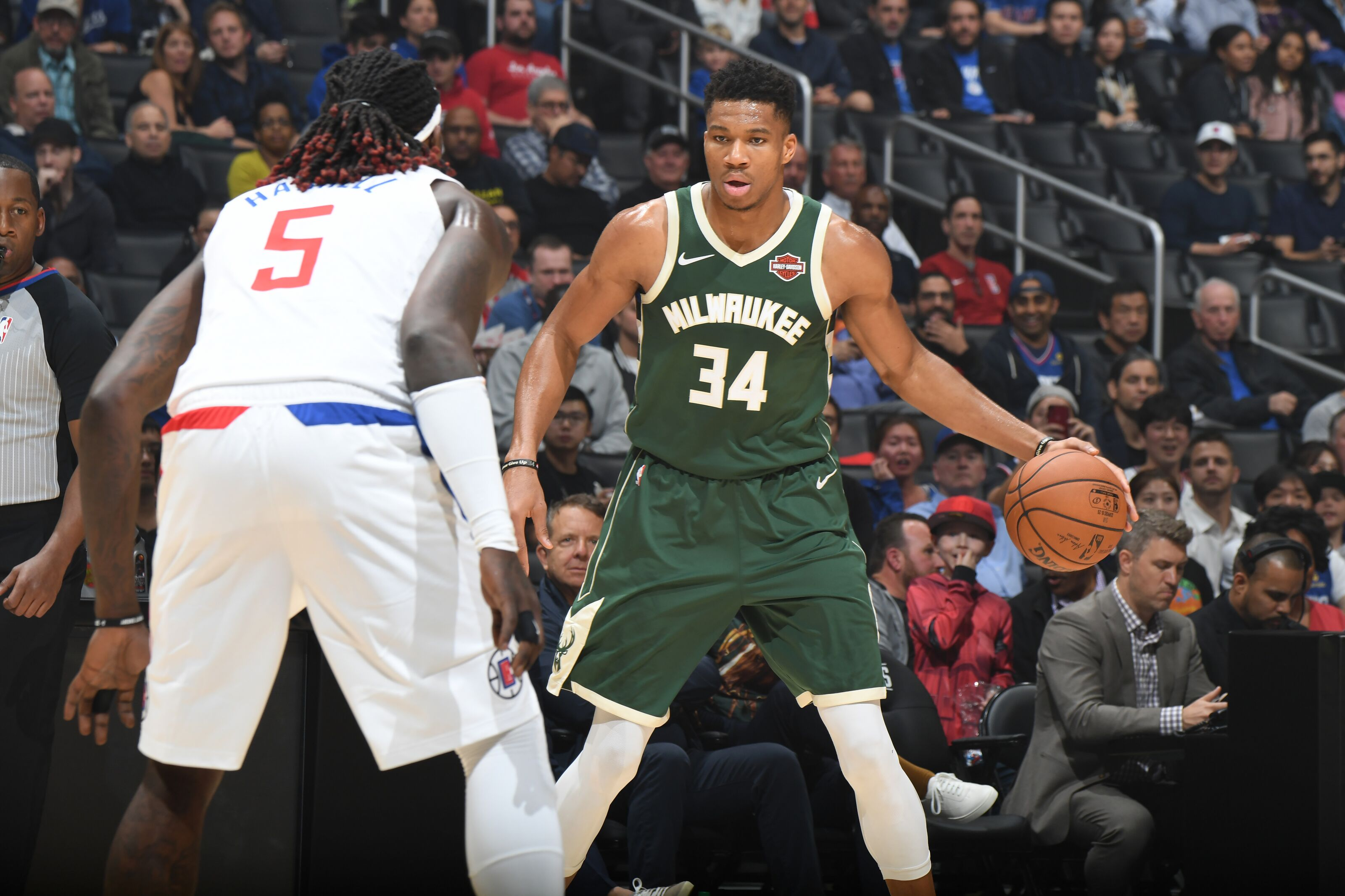 LA Clippers and Bucks face off in battle of NBA's best