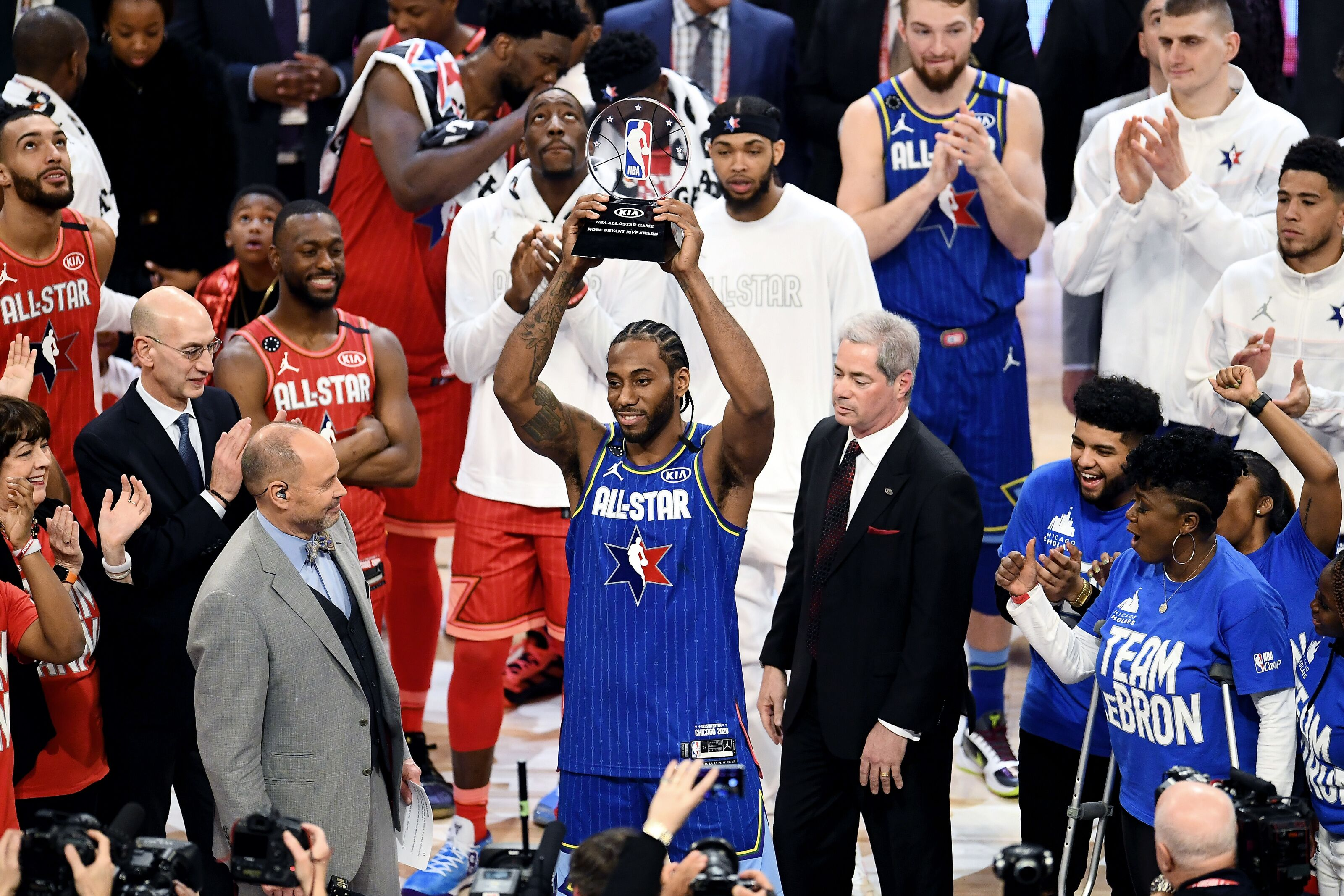 LA Clippers' Kawhi Leonard named NBA All-Star Game Kobe Bryant MVP