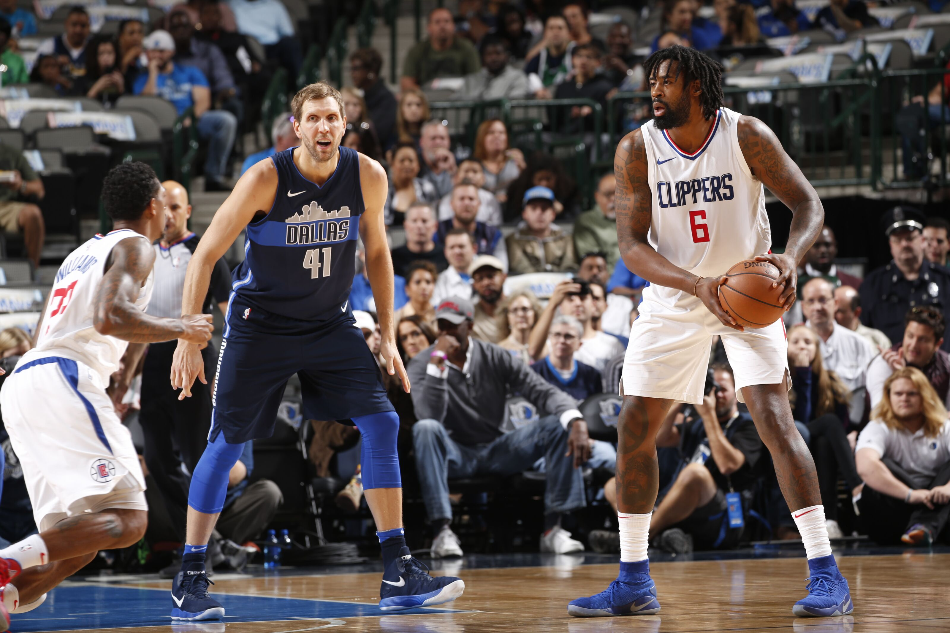e4f9358d1 Clippers  DeAndre Jordan May Opt-In to Facilitate Trade
